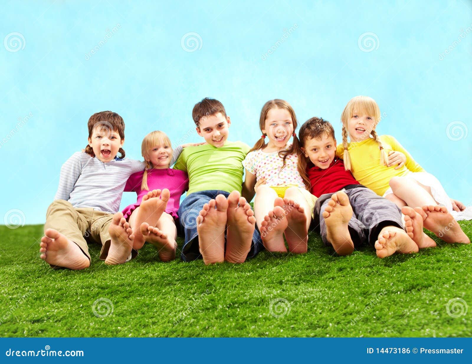 Relaxing children