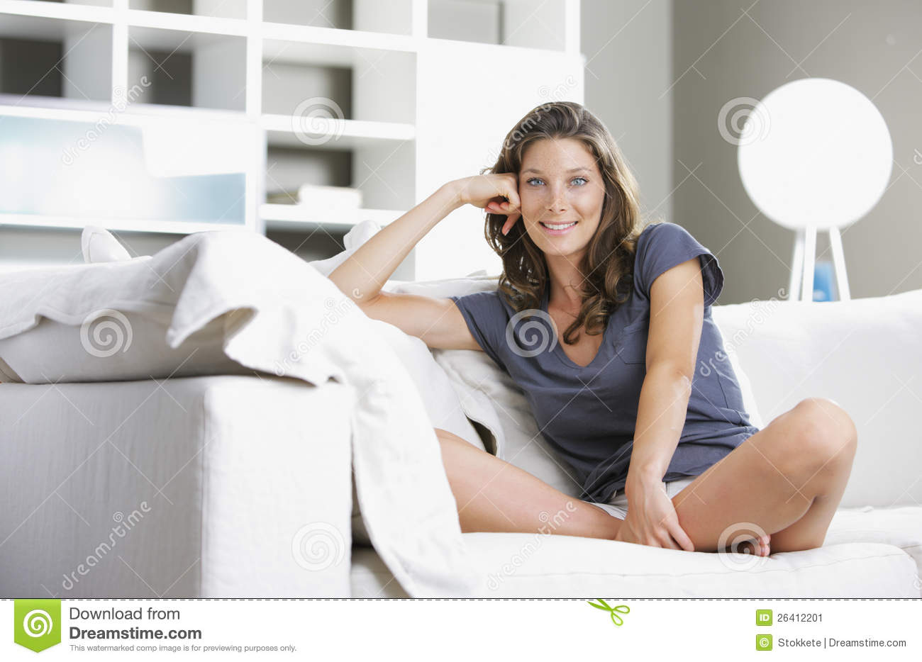 Relaxing At Home Stock Image Image 26412201