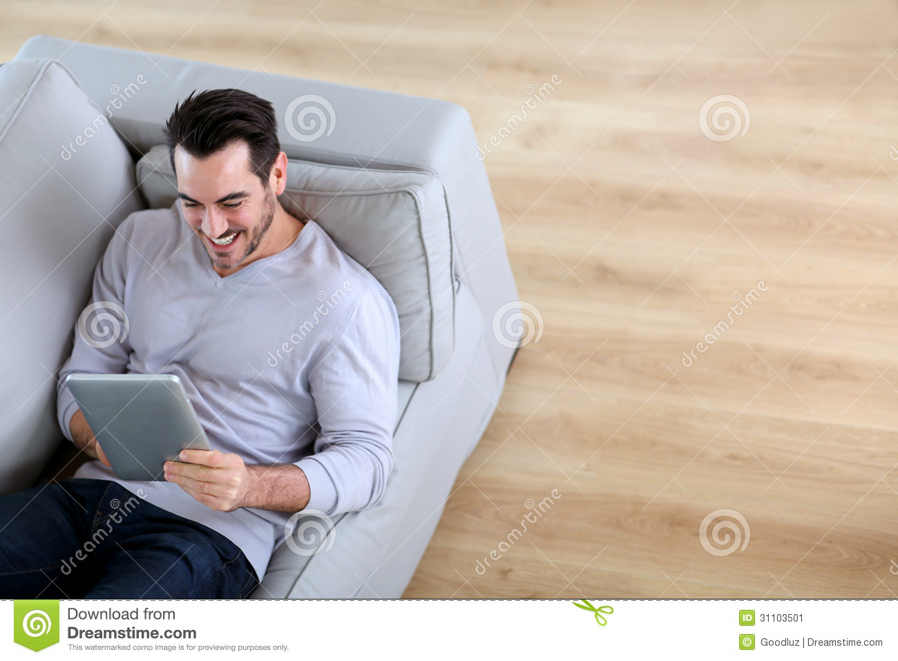 Relaxing At Home Stock Image Image 31103501