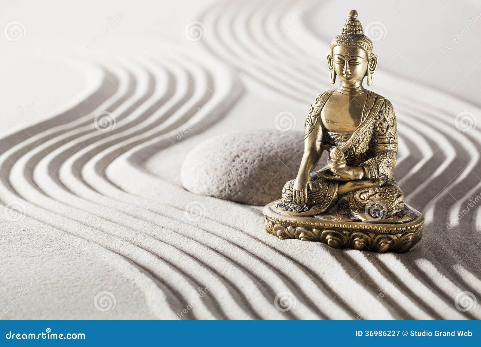 relaxing meditation with buddhism mindset stock image image 36986227. Black Bedroom Furniture Sets. Home Design Ideas