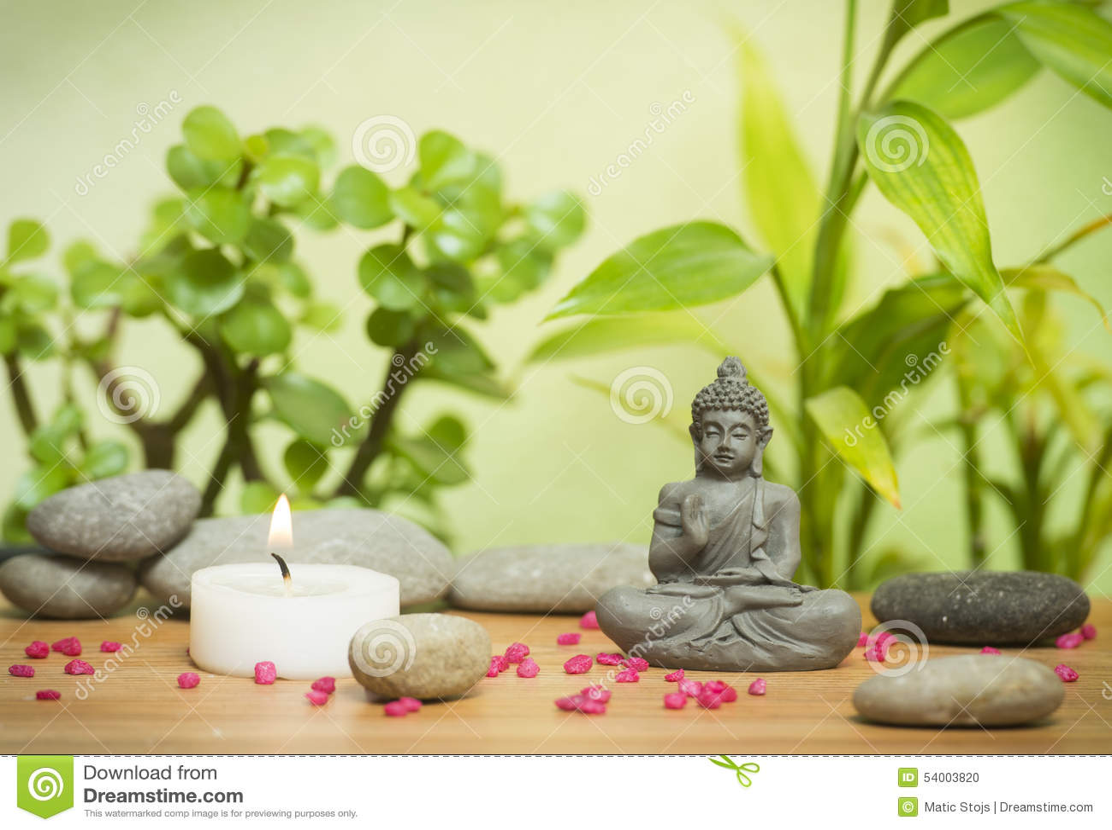 Relaxing zen garden stock photo. Image of japanese ...