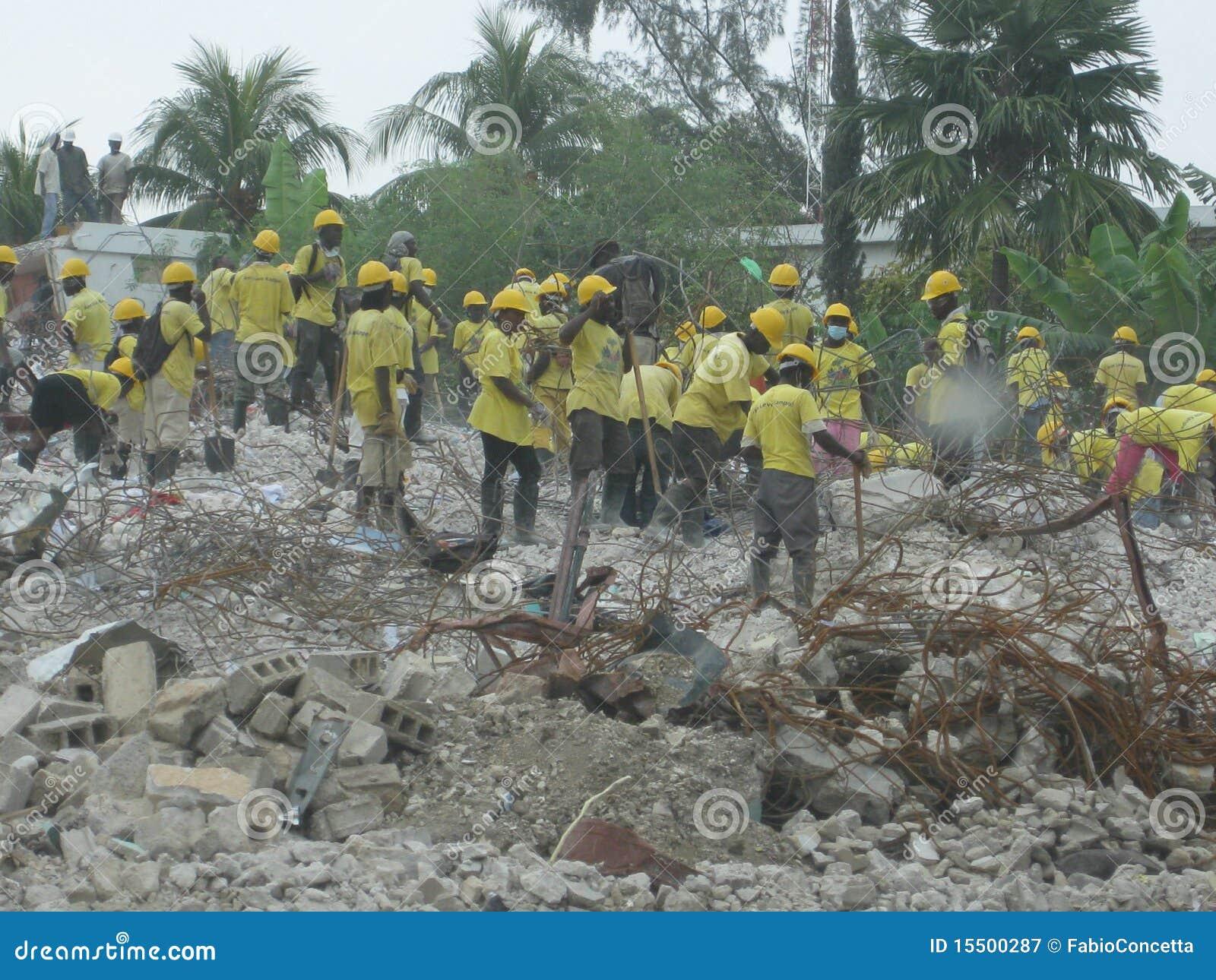 Relevo a haiti