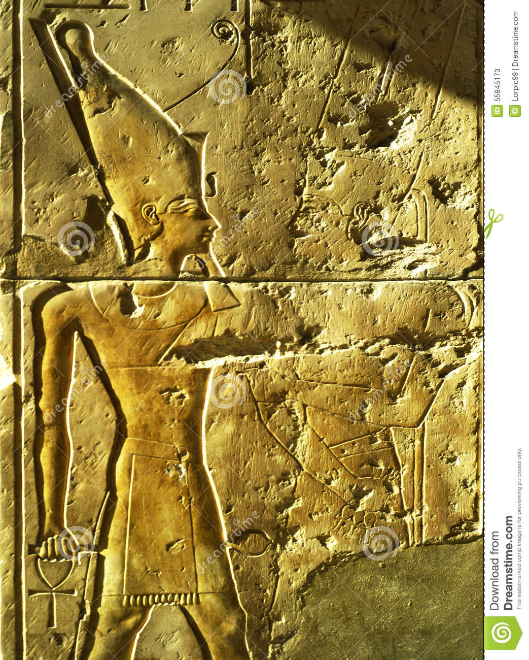 Relief egypt stock photo image