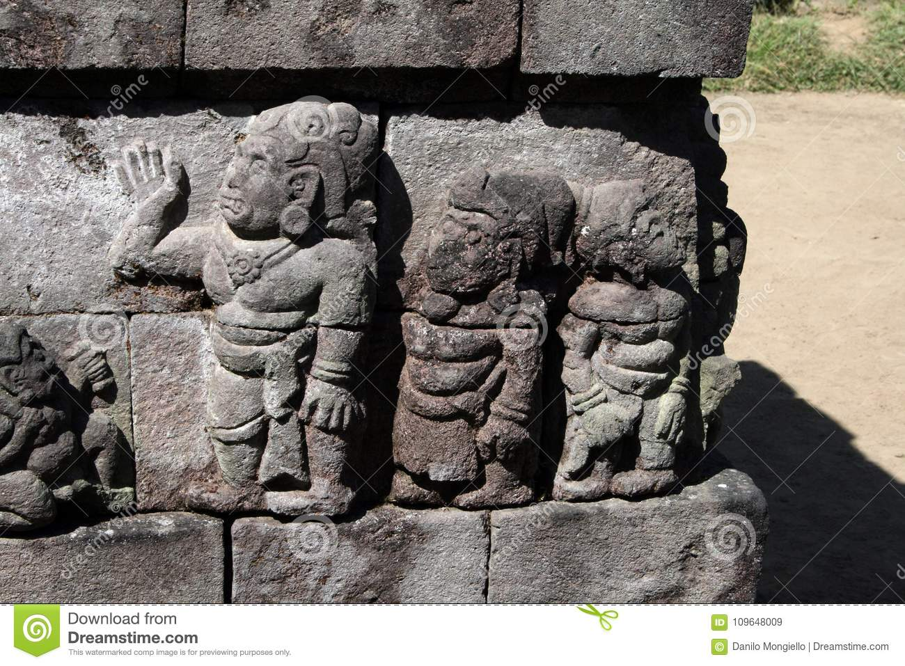 Sukuh Relief Stock Image Image Of Hindus Travel Reliefs 109648009