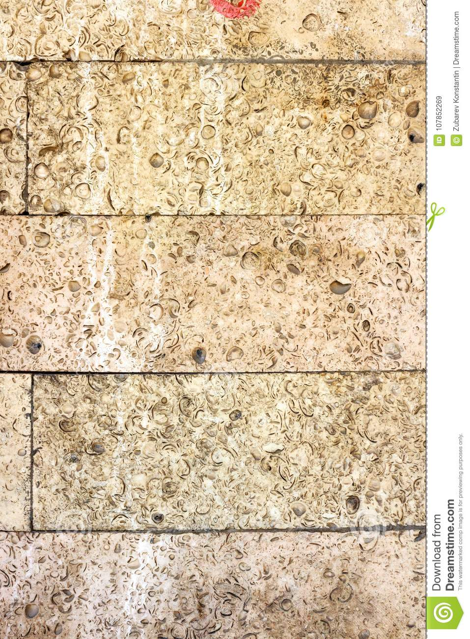 Relief Sandy Stone Wall. Textural Vertical Background Stock Image ...