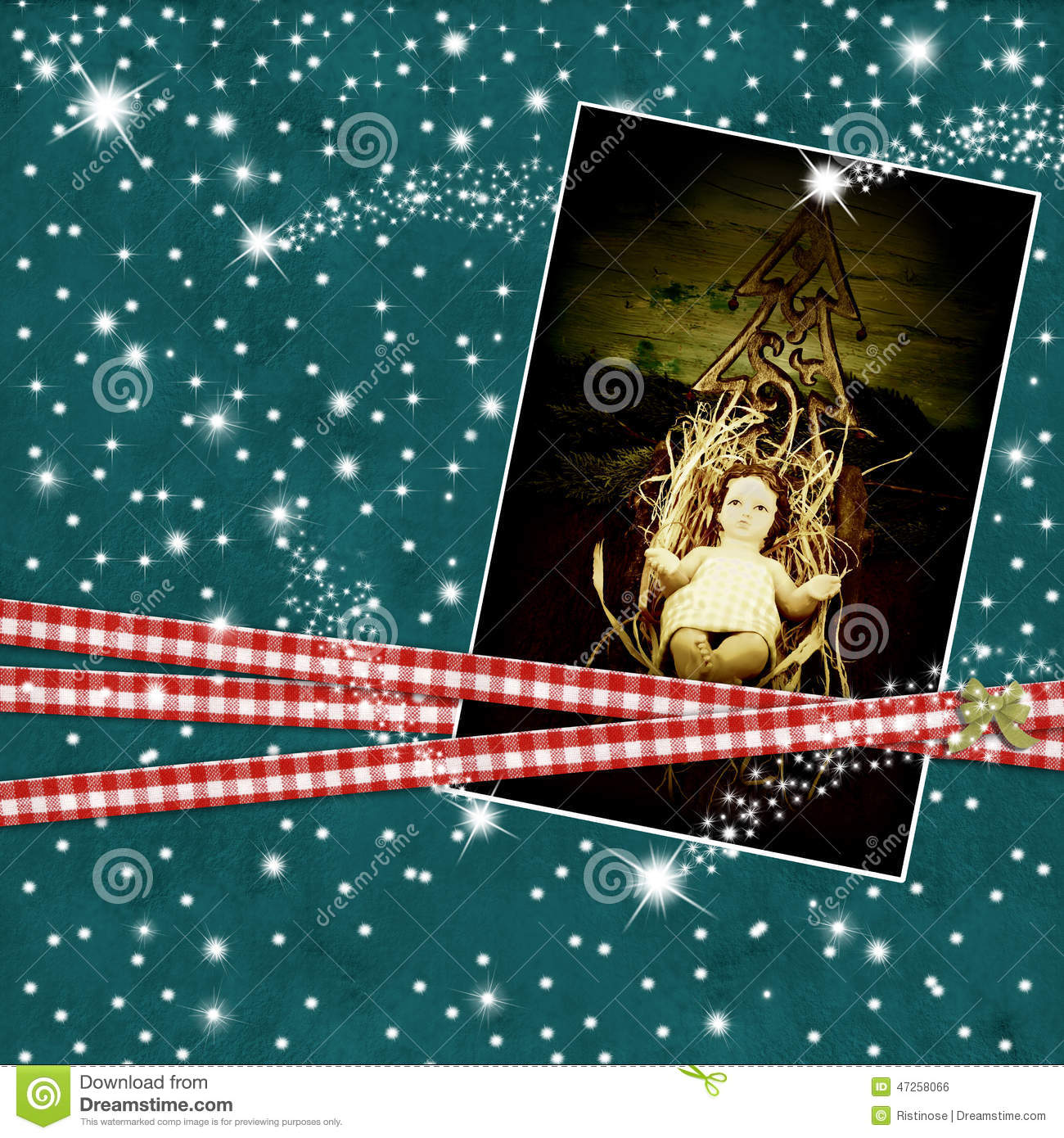 download religion christmas cards baby jesus stock illustration illustration of photo decoration 47258066 - Jesus Christmas Cards