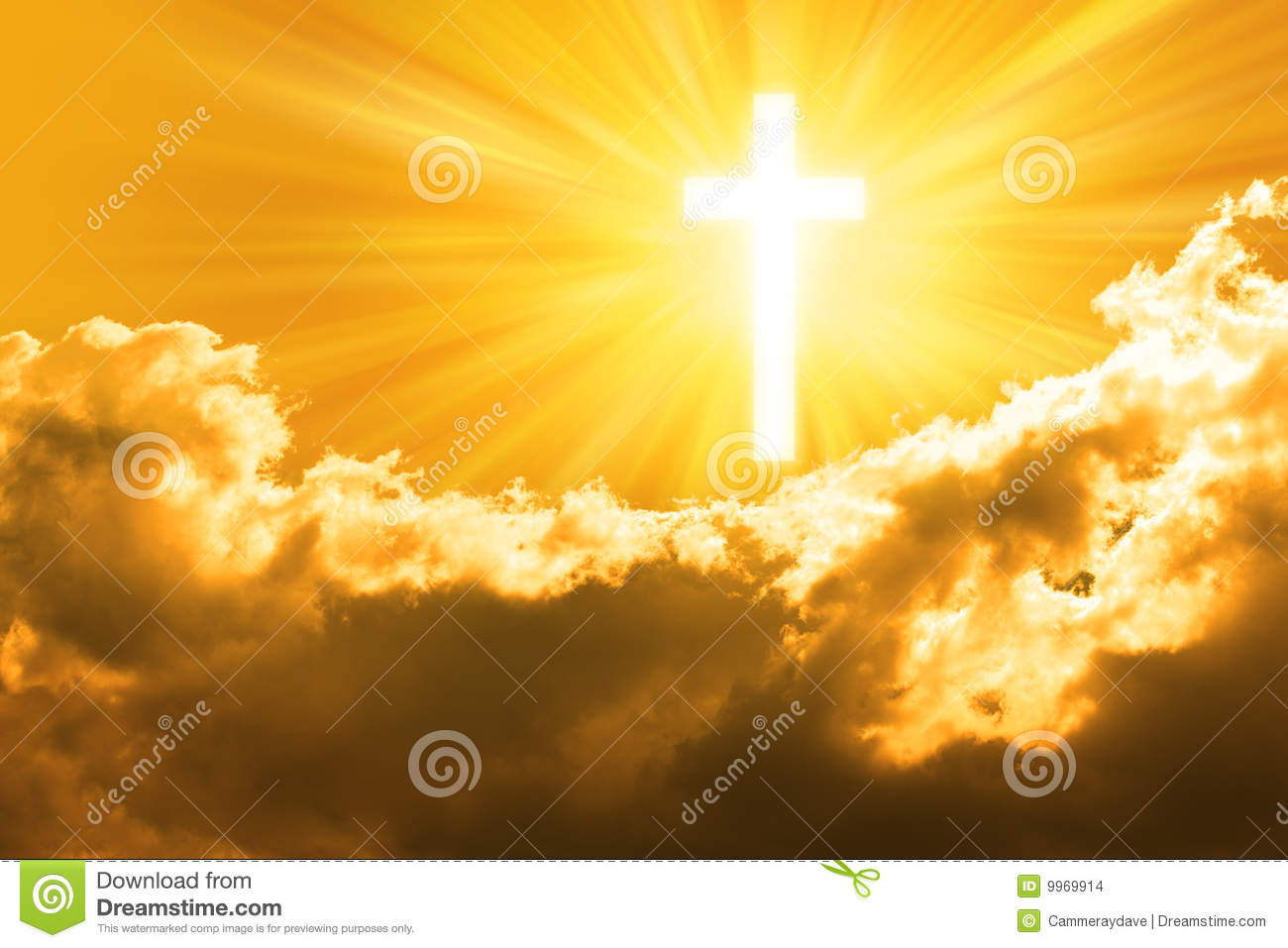 Christian Cross Sky God Background Stock Images - Image: 9969914