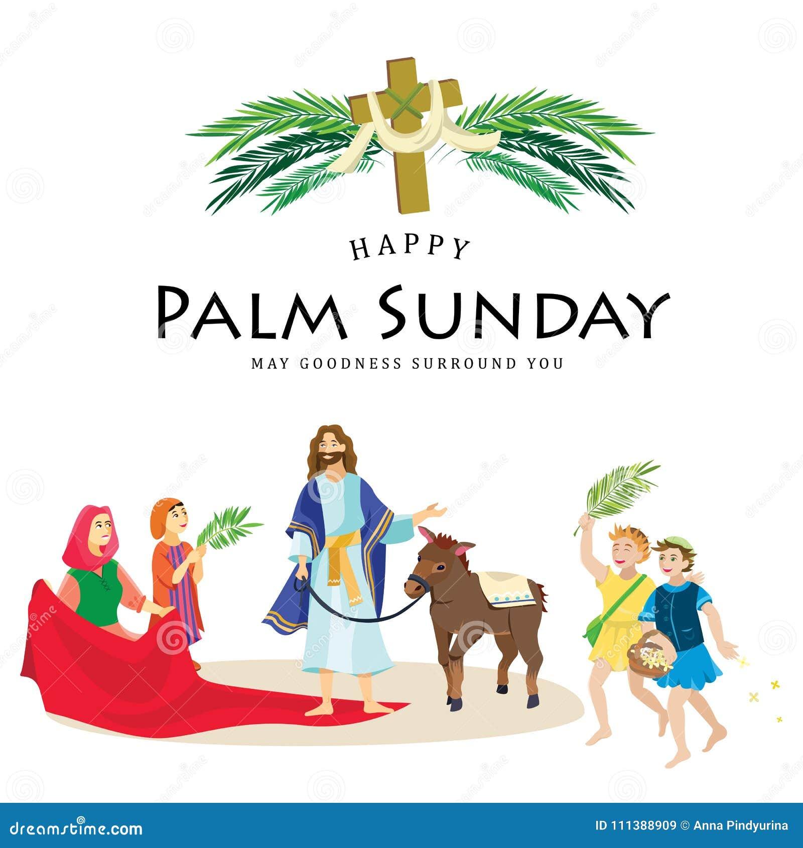 Religion Holiday Palm Sunday Before Easter, Celebration Of The ...