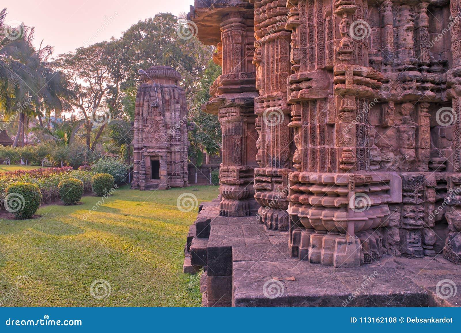 Religion indoue d Inde de Bhubaneswar Odisha de temple de Chitrakarini