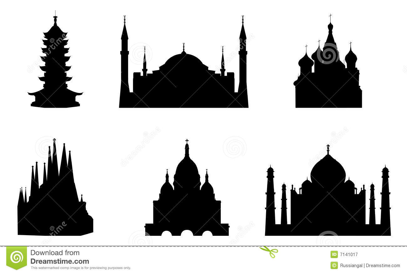 Religious buildings royalty free stock photography image for Religious buildings in india