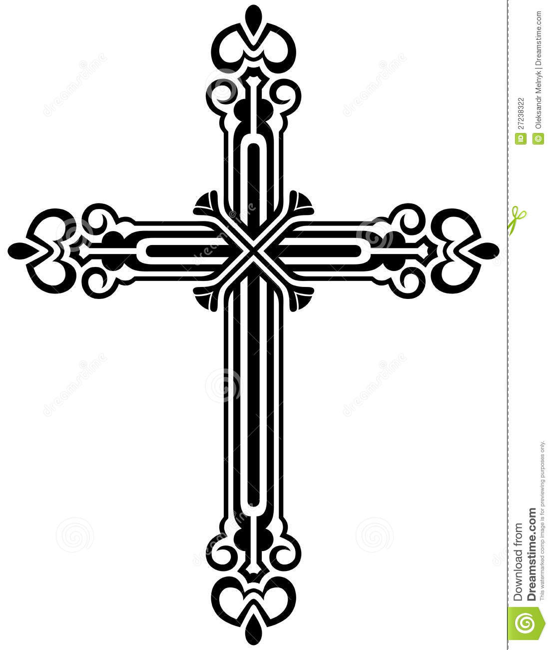 Religious Cross Design Collection Stock Photography - Image: 27238322
