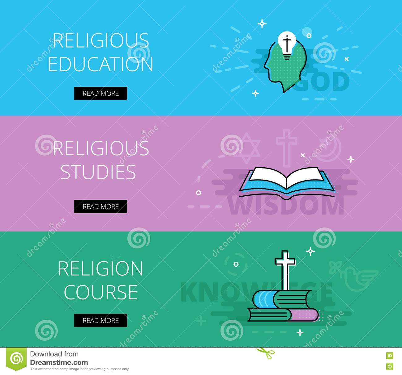 Religious Studies: Annunciation Cartoons, Illustrations & Vector Stock Images