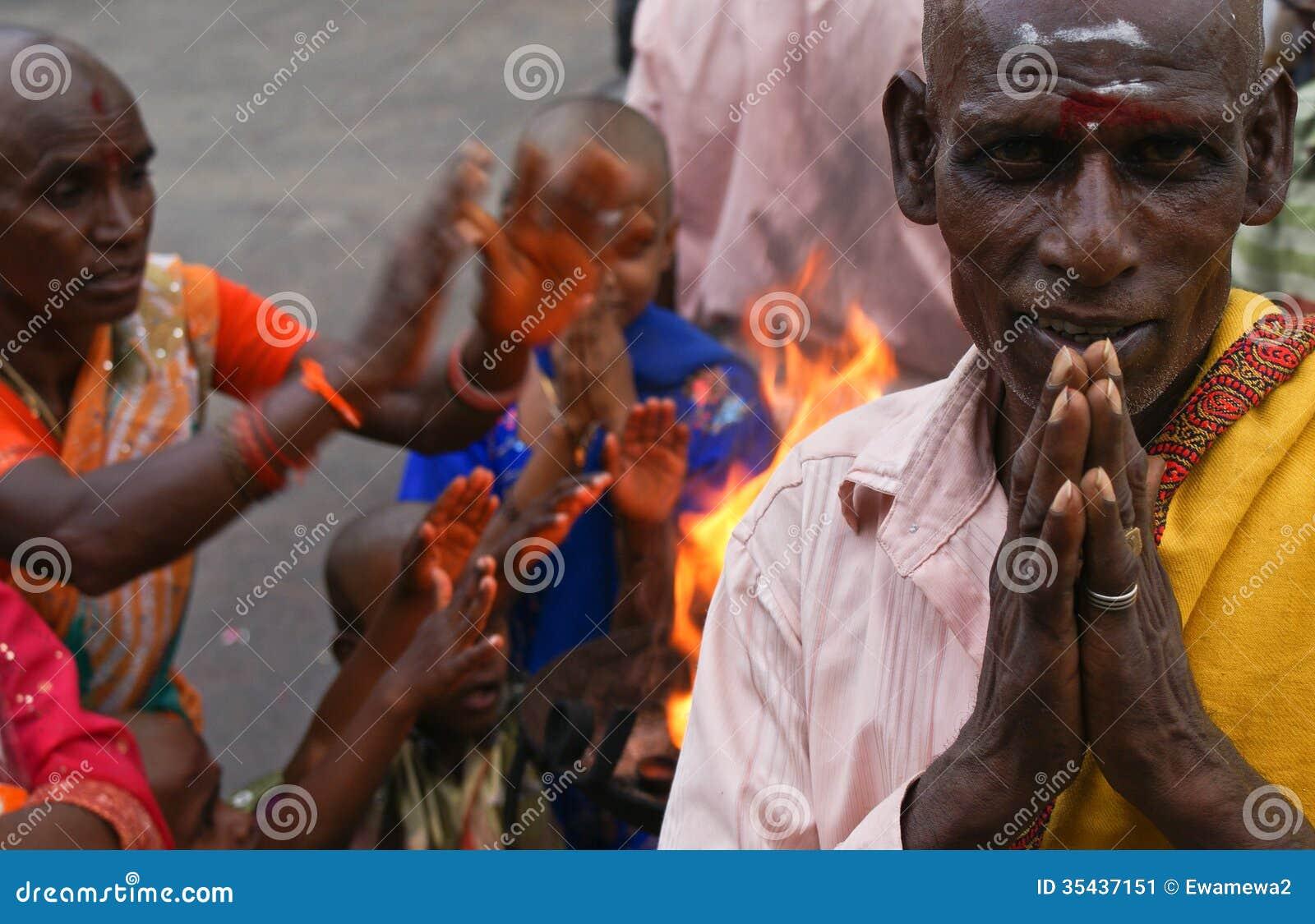 Religious Hindu People Of India Editorial Photo - Image ...