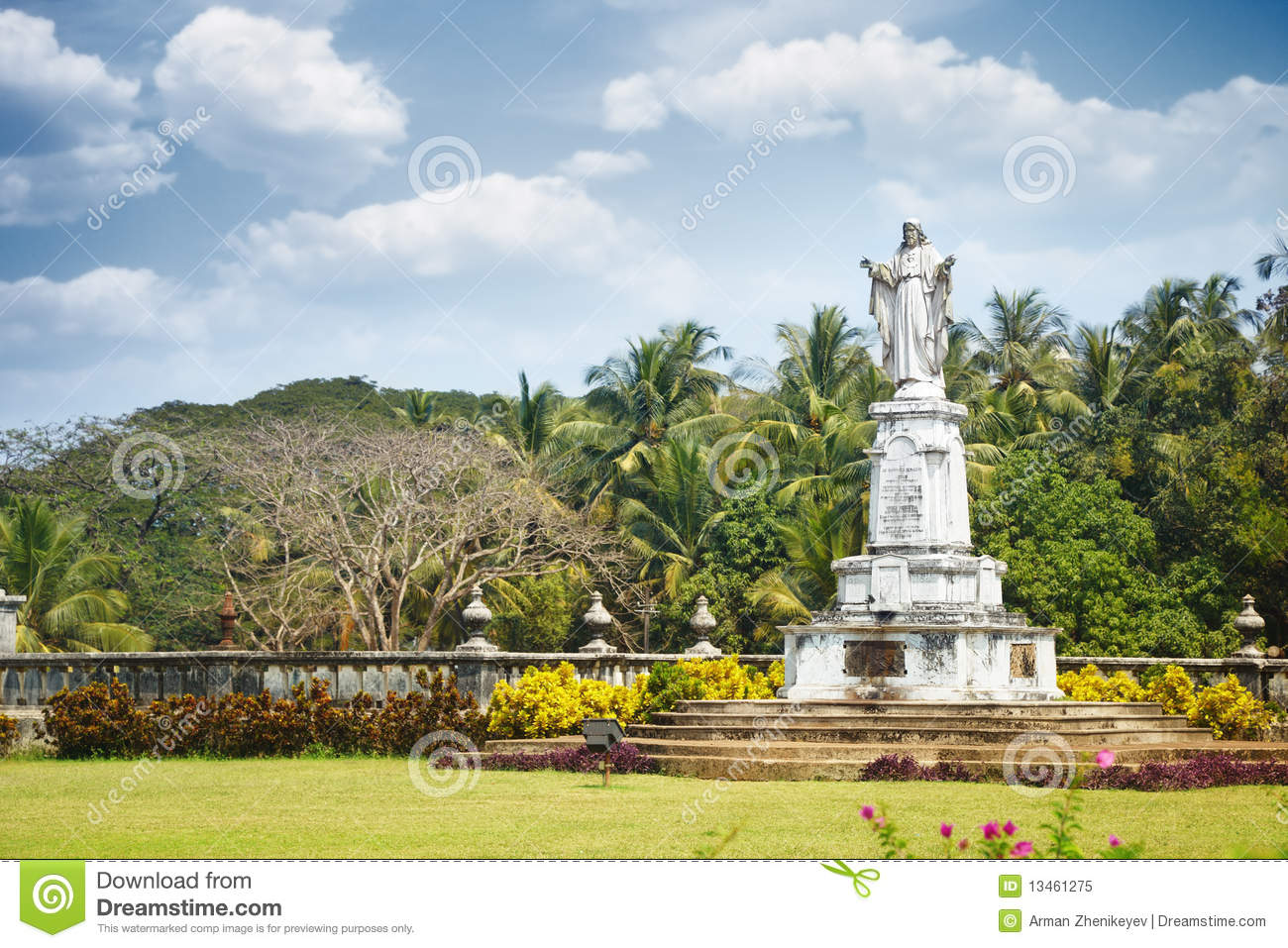 Religious Monument In Goa Stock Image Image Of Famous 13461275