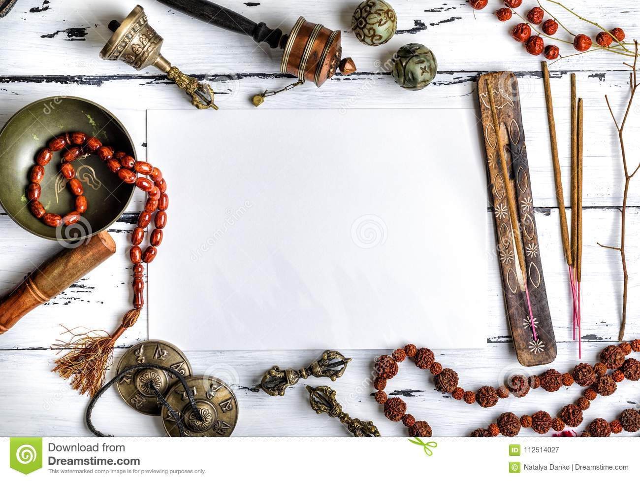 Religious musical instruments for meditation and alternative med
