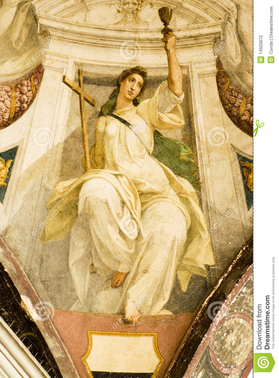 Religious Paintings Stock Photos Image 14503873
