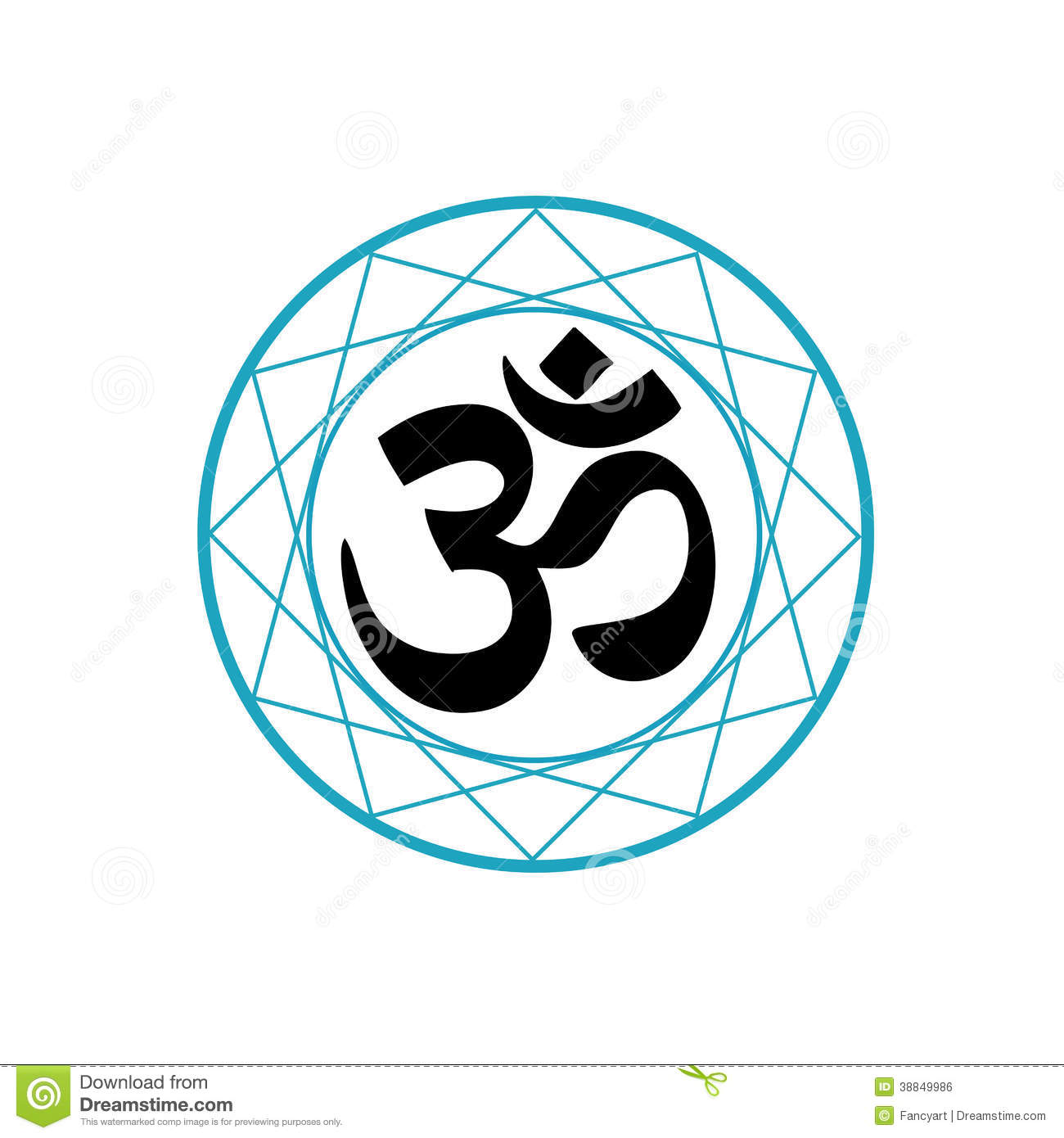 Religious symbol of hinduism stock vector illustration 38849986 religious symbol of hinduism biocorpaavc