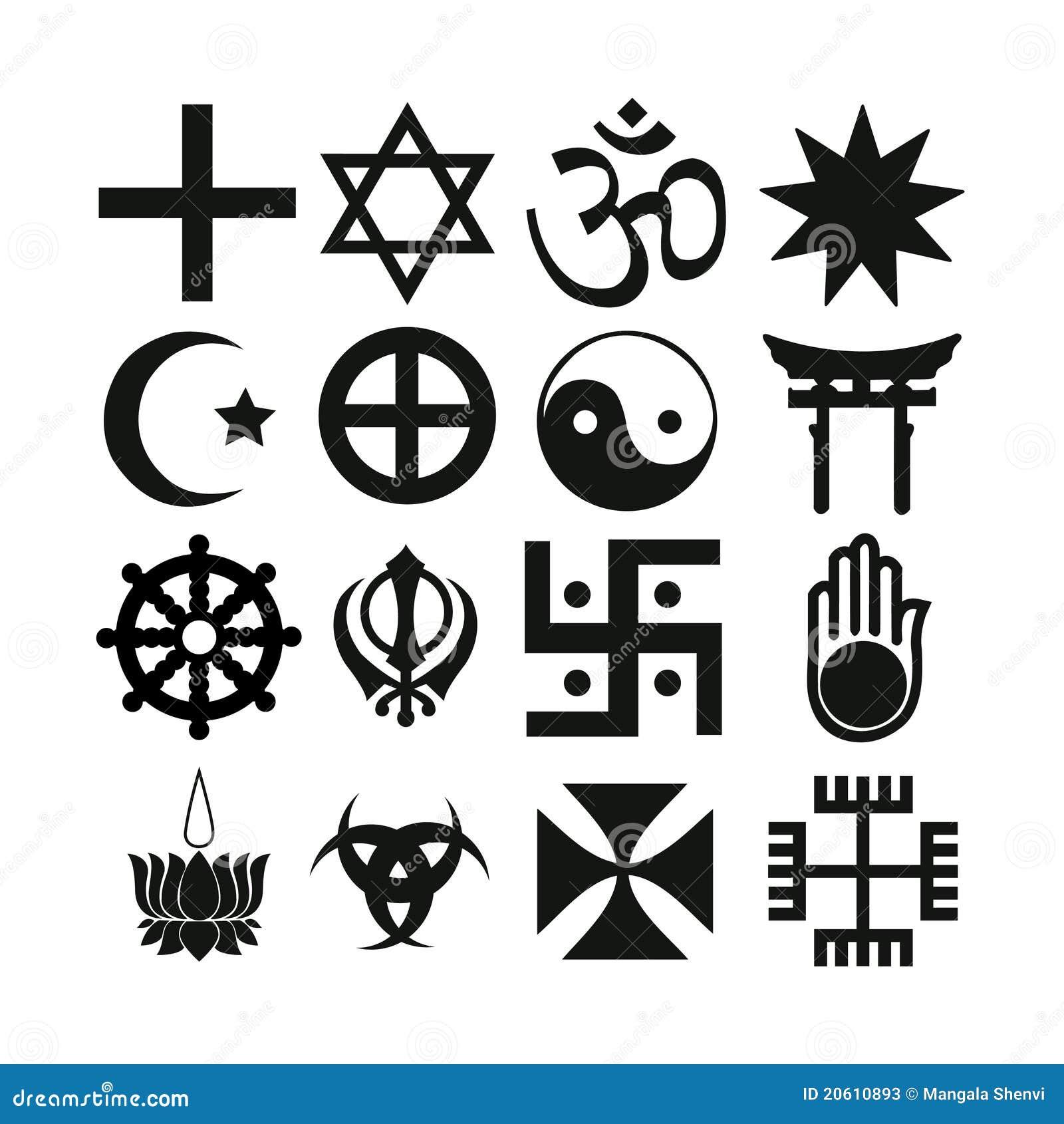 Symbols stock illustrations 216884 symbols stock illustrations religious symbols isolated on white stock photos biocorpaavc Image collections