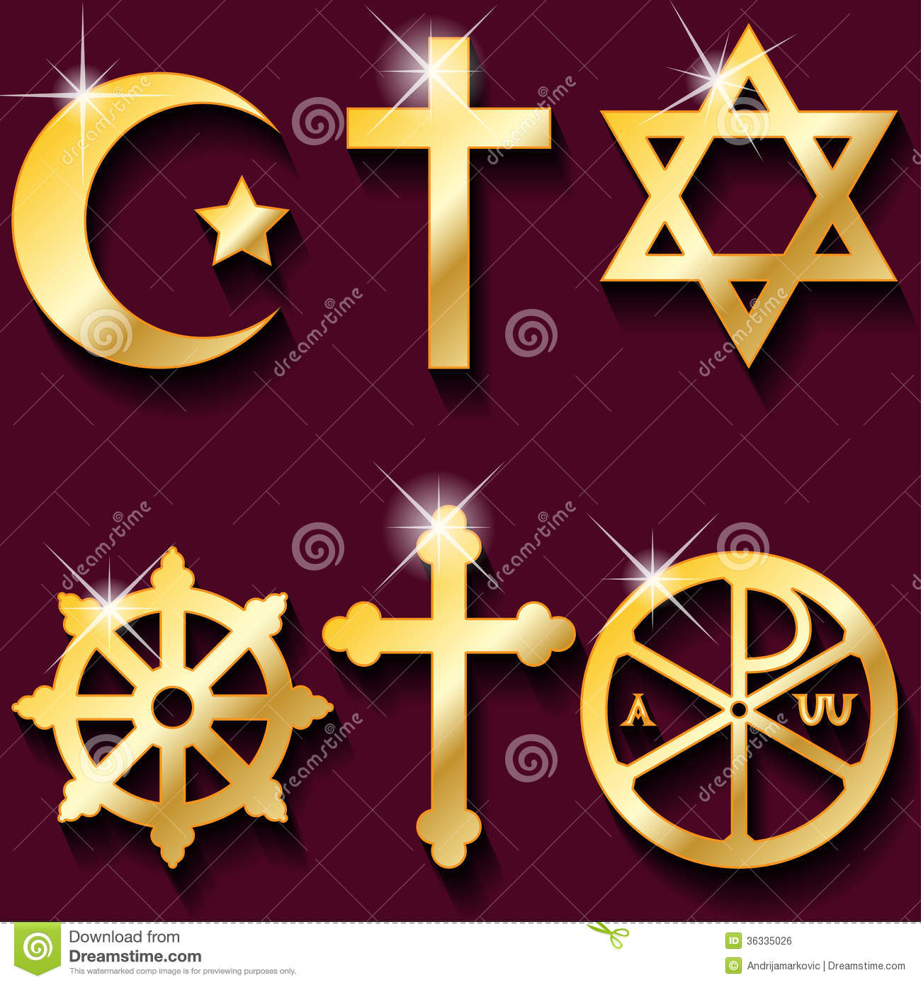 Religious symbols stock illustration illustration of freedom religious symbols royalty free stock image buycottarizona