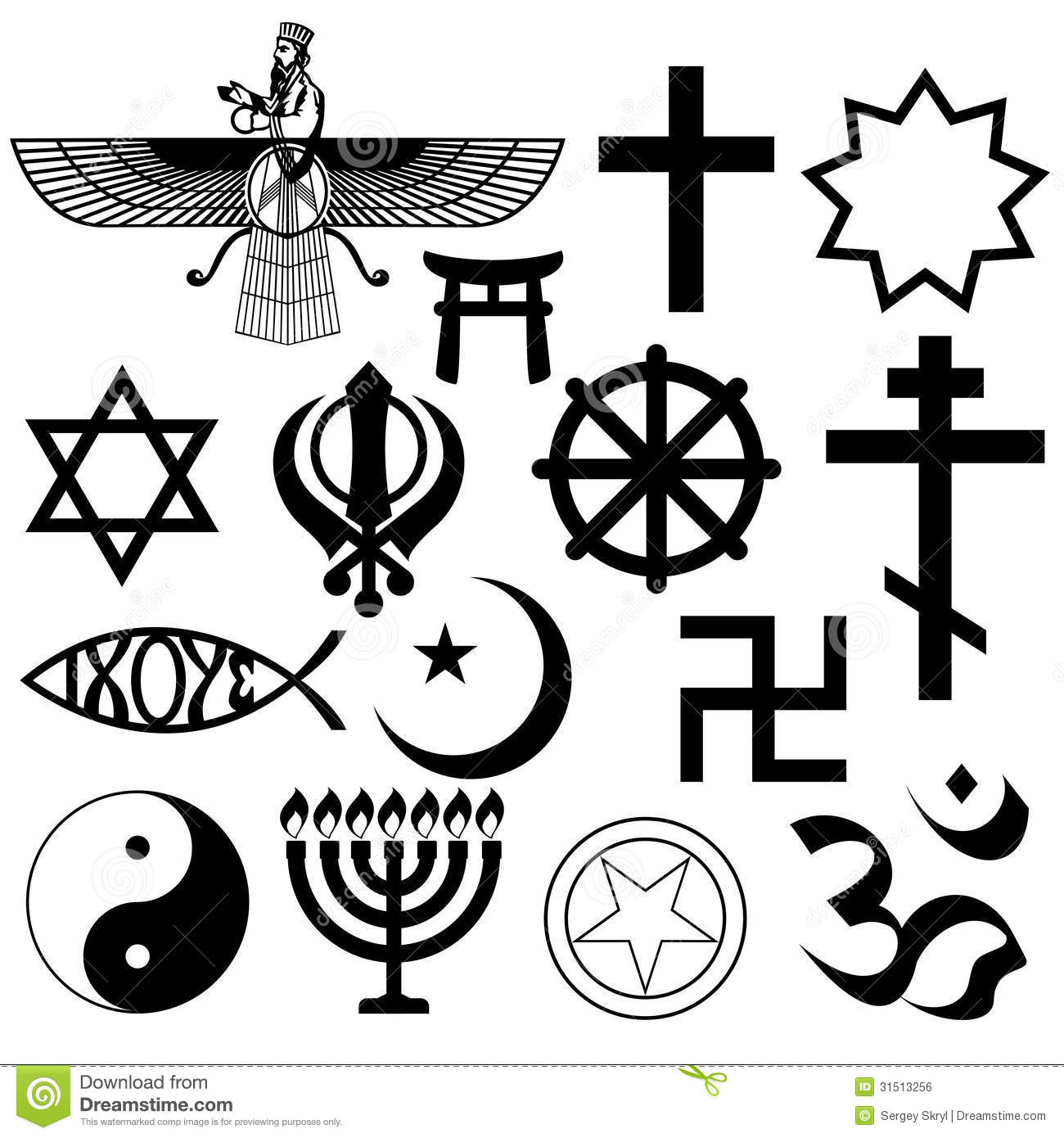 a discussion of the meaning of religious symbols