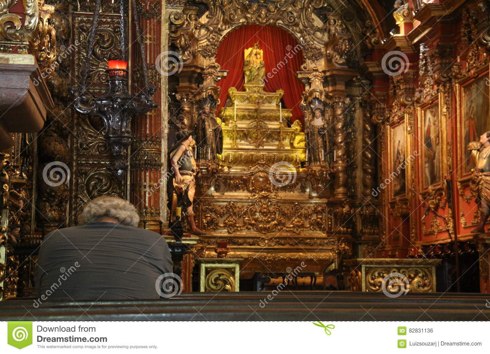 Religious Tourism in Rio de Janeiro Downtown