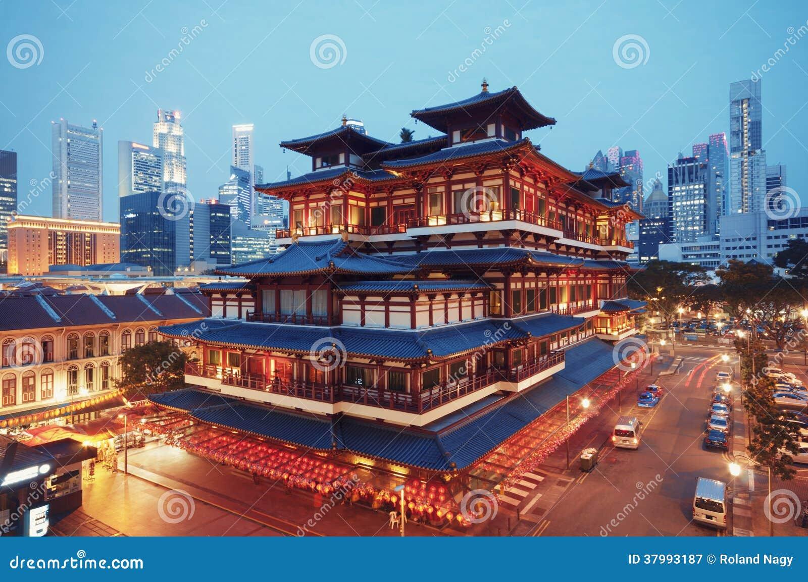 Relikt-Tempel Buddhas Toothe, Singapur