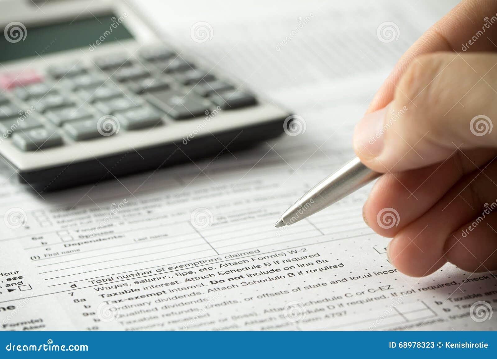 Relleno del impuesto sobre la renta