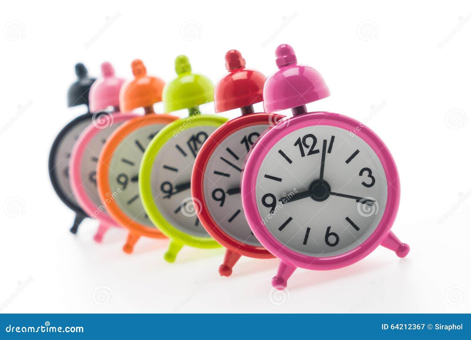 Reloj de alarma clásico