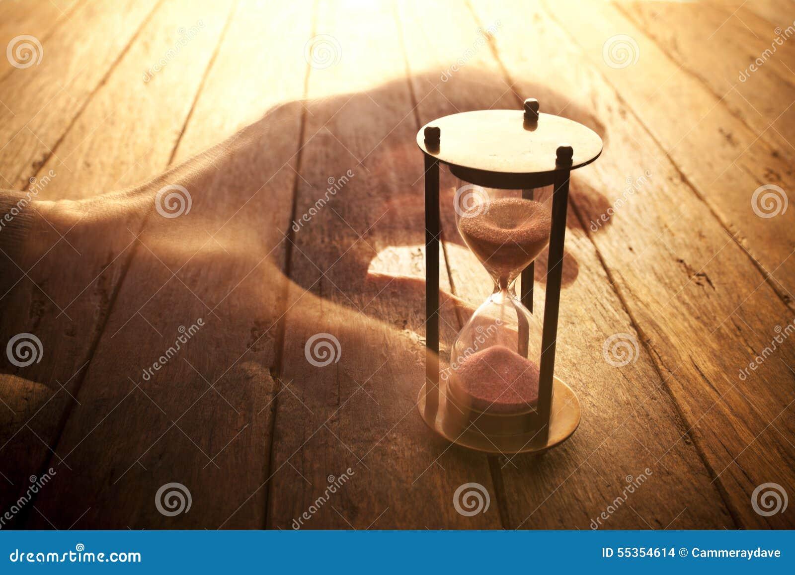 Reloj de arena del tiempo