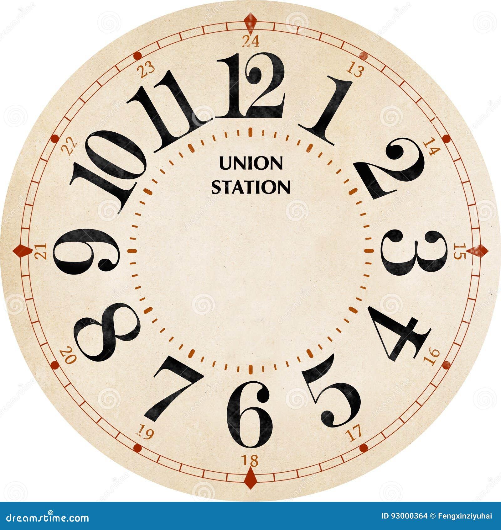 Reloj de la estación de la unión