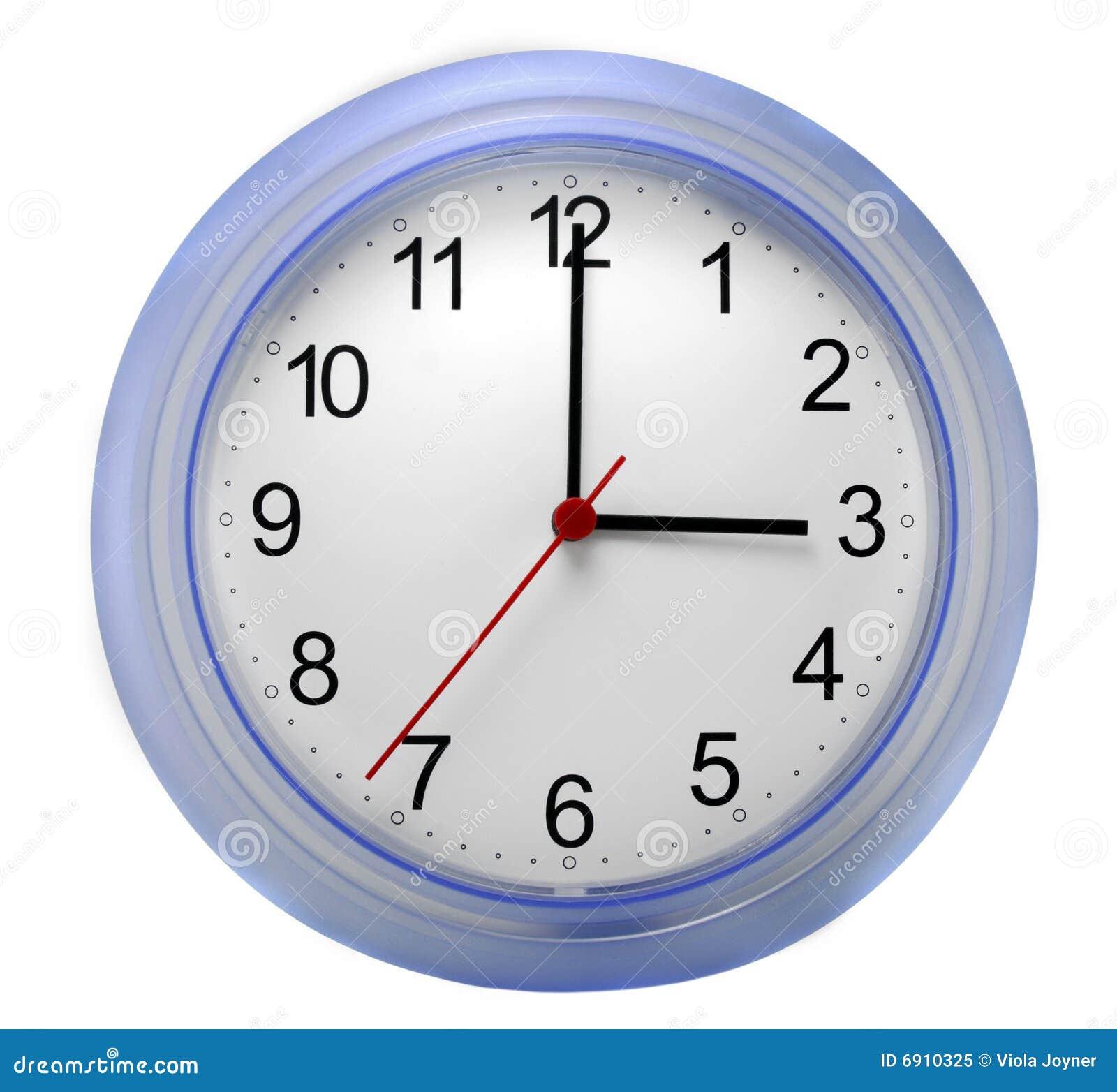 Reloj de pared foto de archivo libre de regal as imagen - Relojes de pared diseno ...