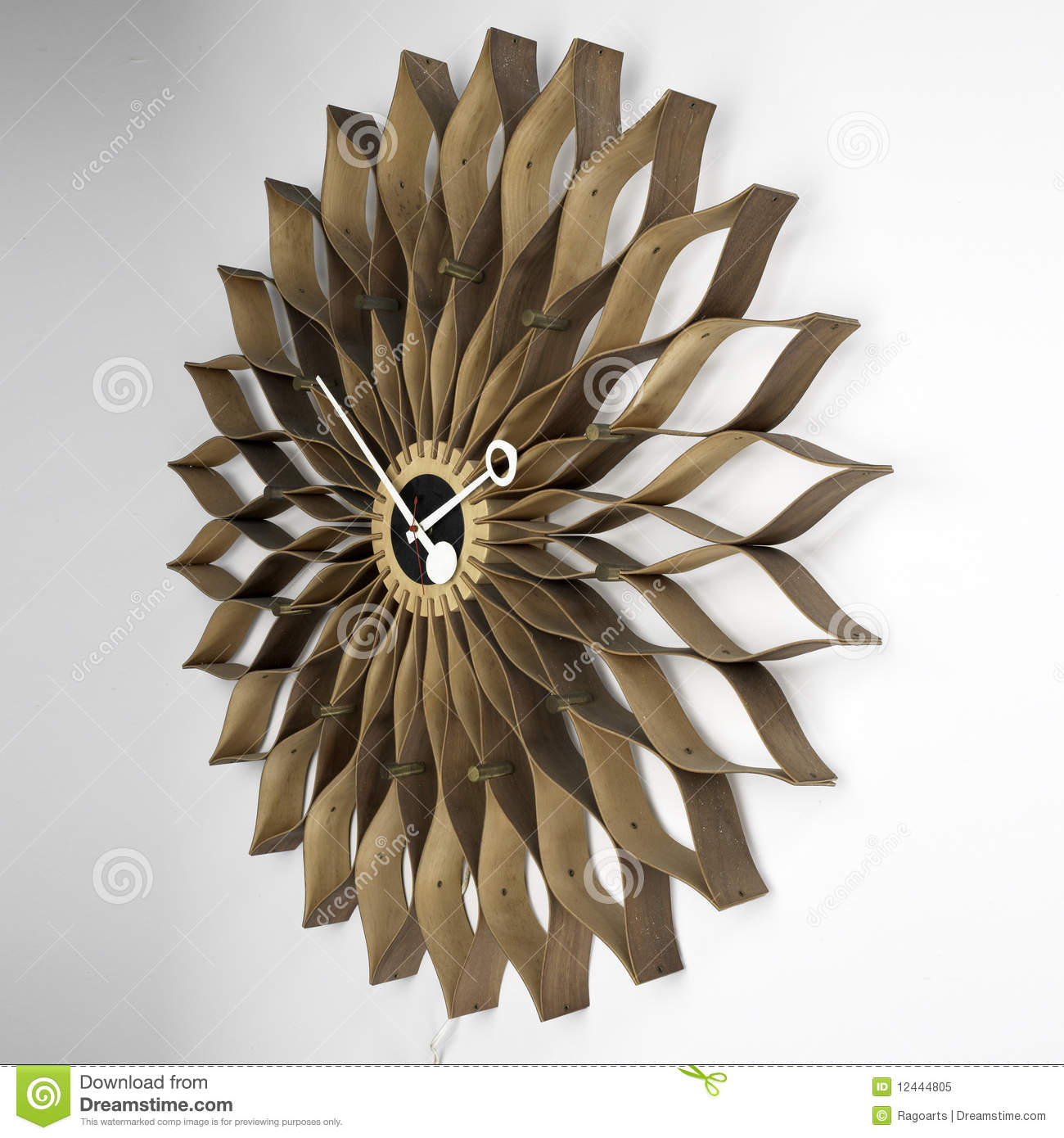 Reloj de pared moderno imagen editorial imagen de - Relojes de pared originales decoracion ...