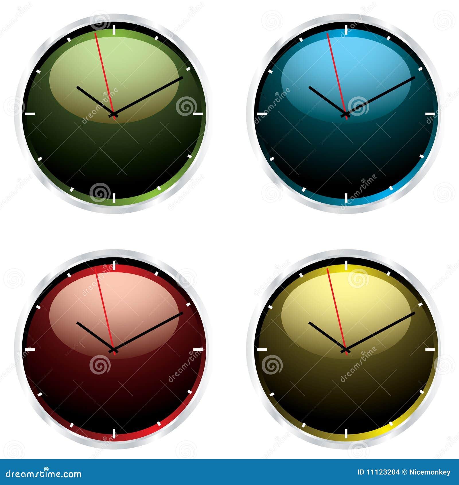 Reloj de pared moderno de las variaciones imagenes de - Reloj de pared moderno ...