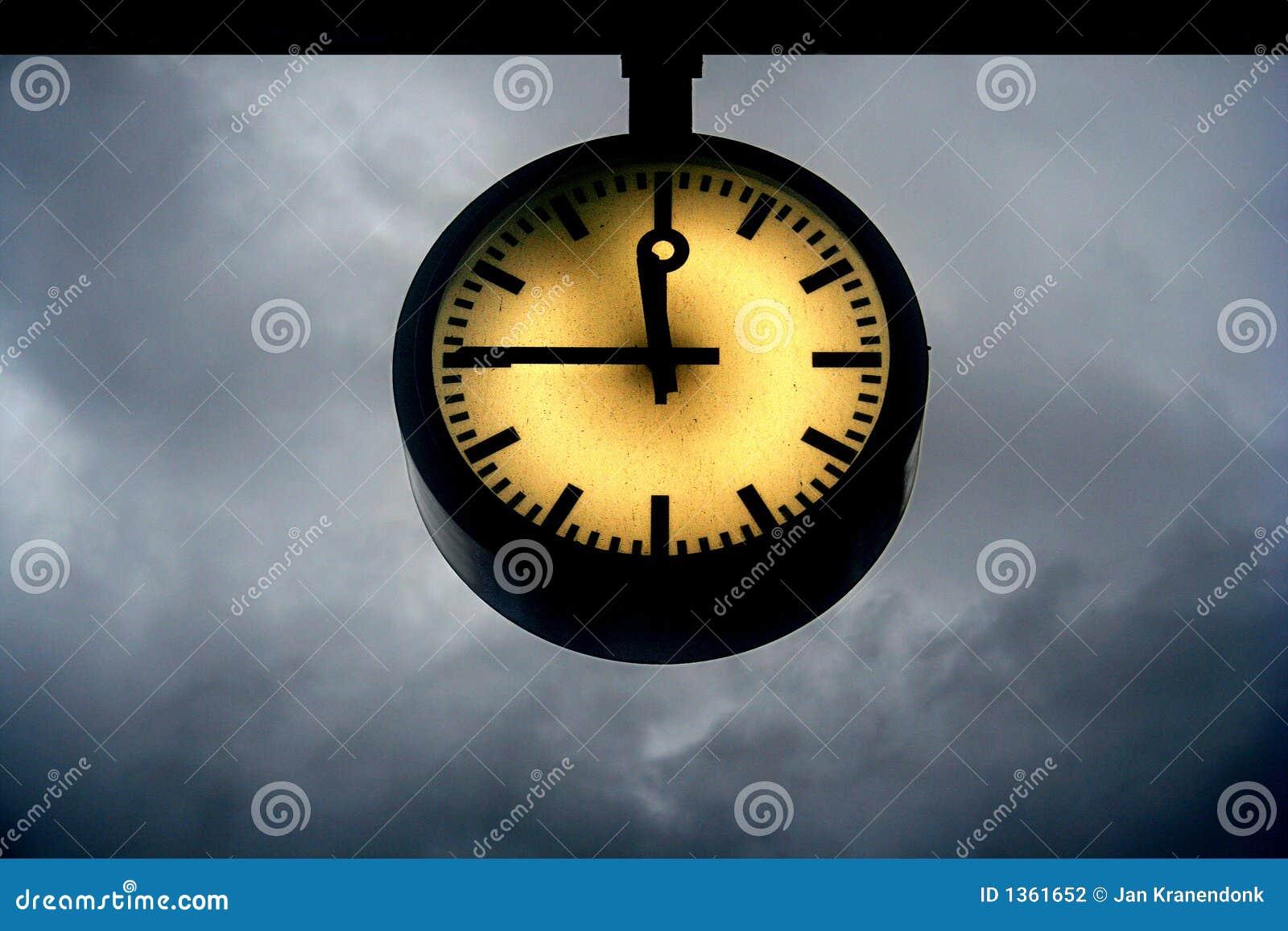 Reloj del día del juicio final