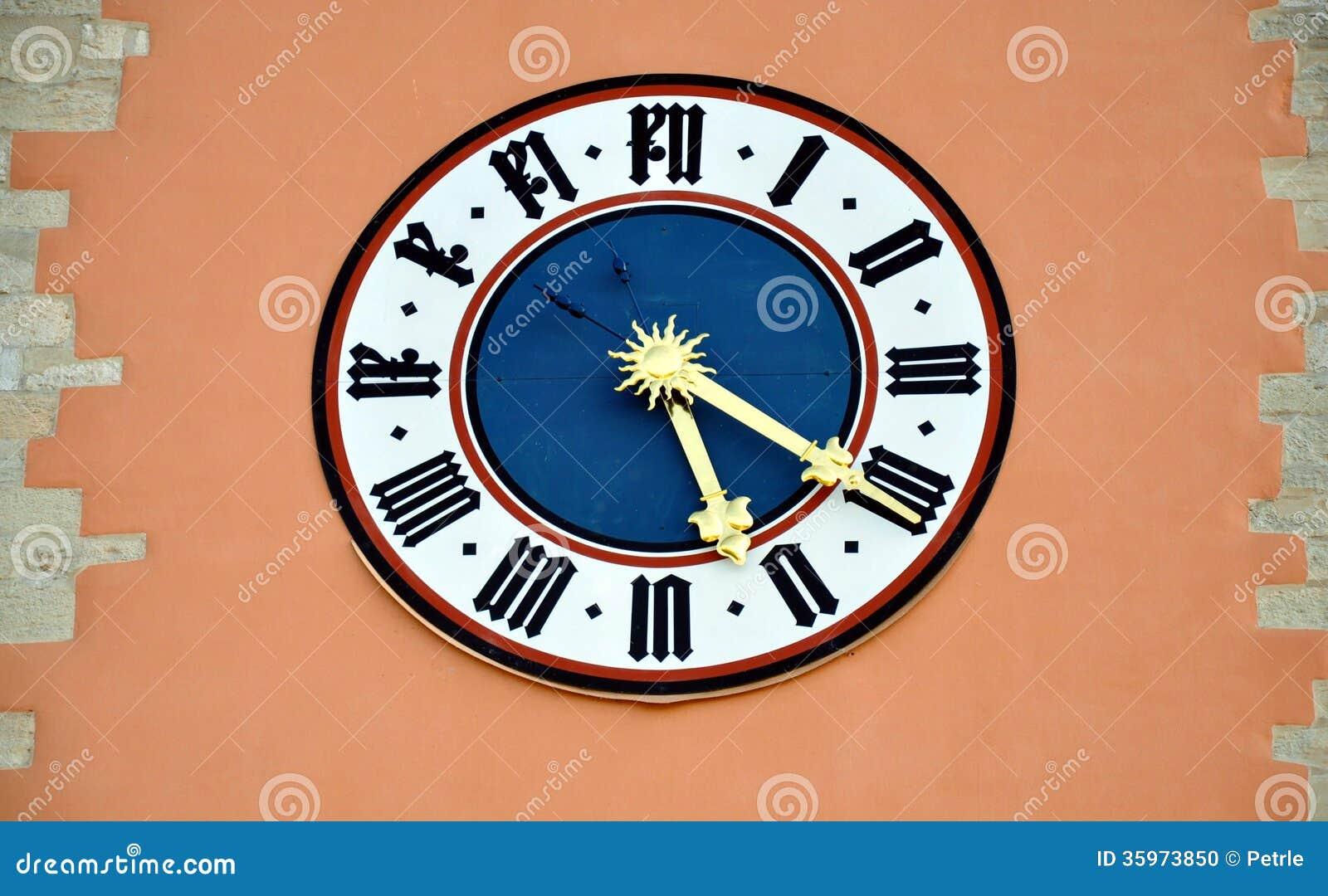 Reloj en la pared