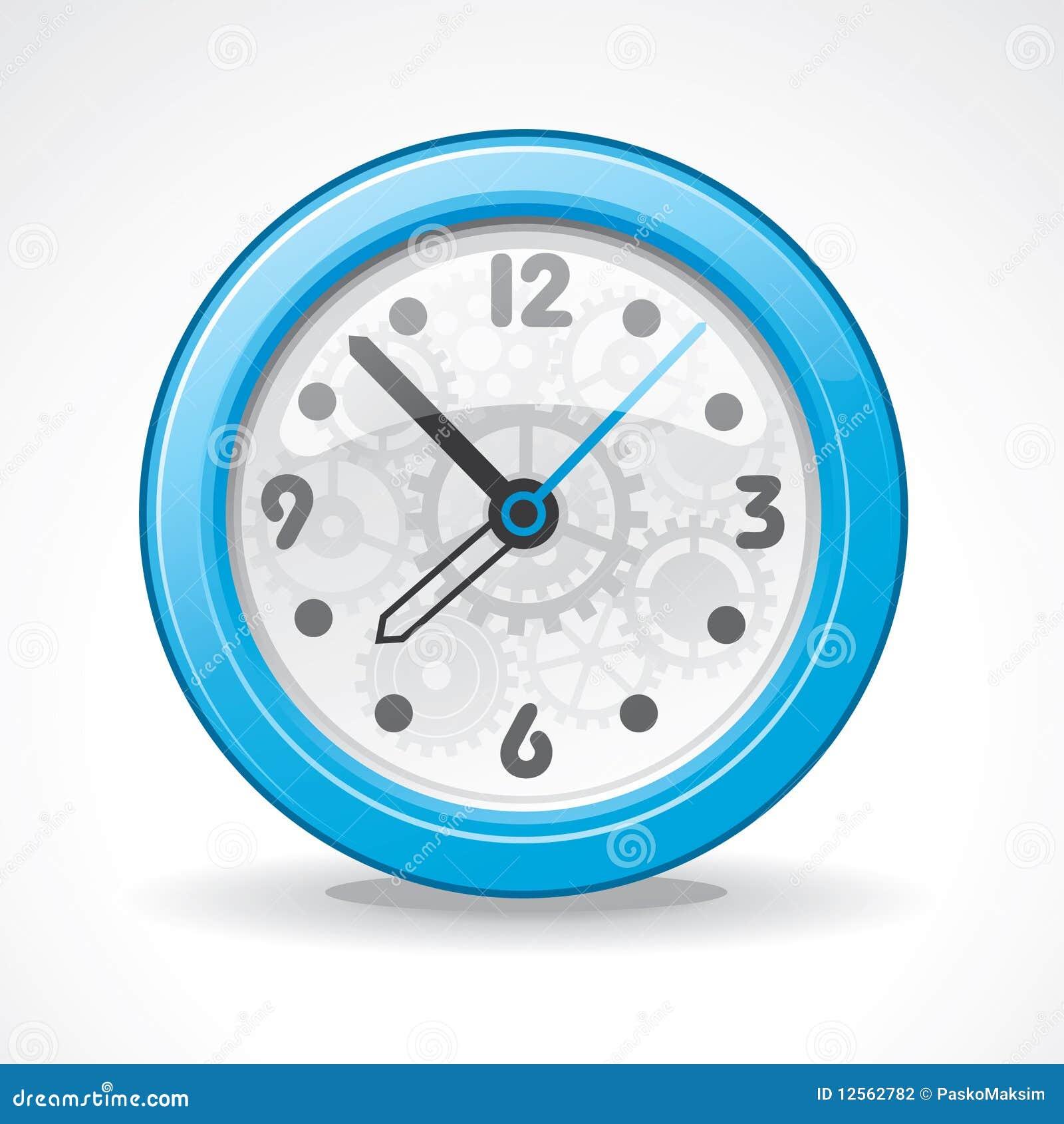 Reloj moderno transparente ilustraci n del vector imagen for Relojes de salon modernos