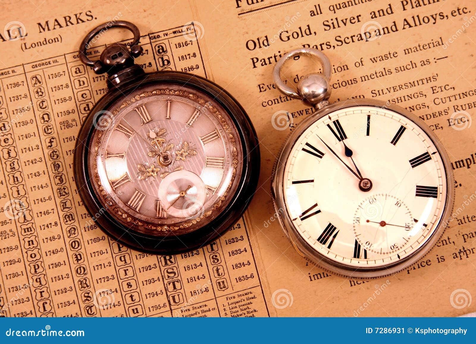 Relojes de bolsillo antiguos