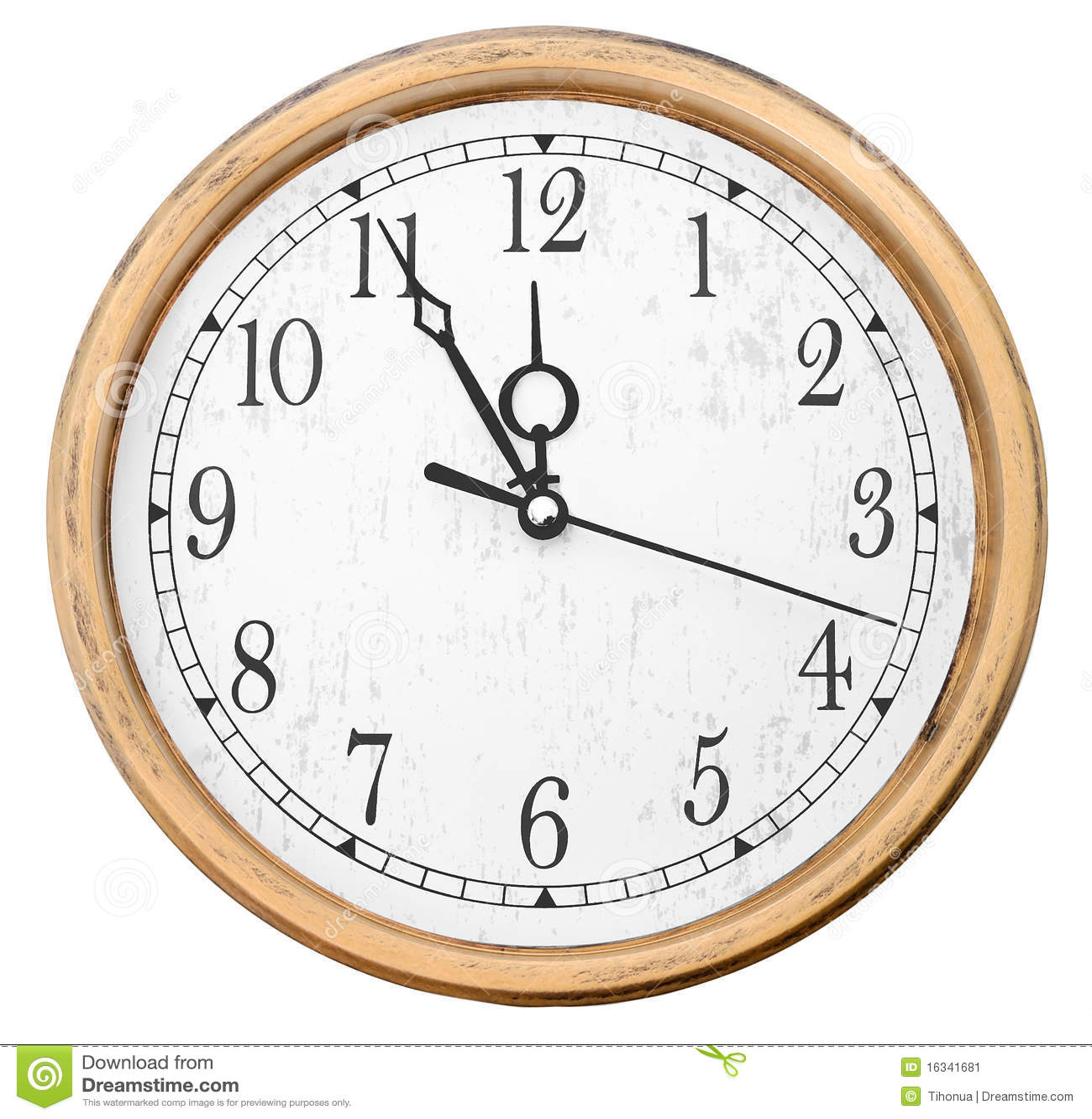 Relojes de pared aislados imagen de archivo imagen 16341681 - Reloj pintado en la pared ...