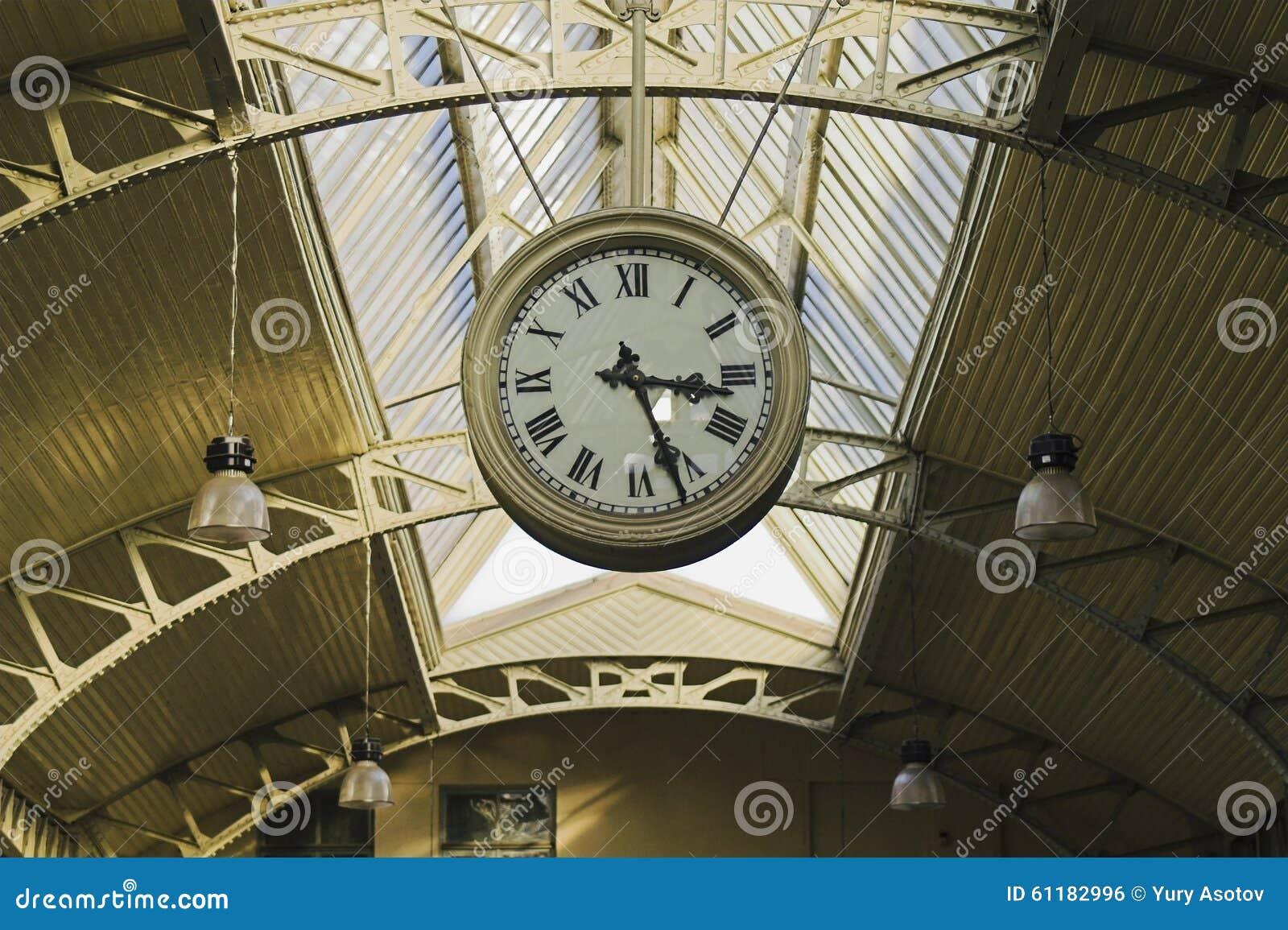 Relojes del público de la ejecución