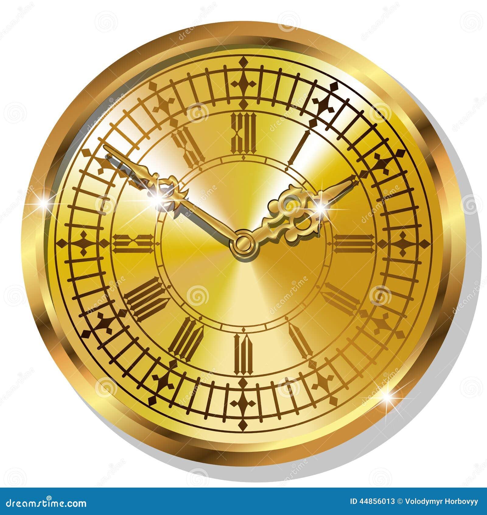 Relojes del vintage del oro