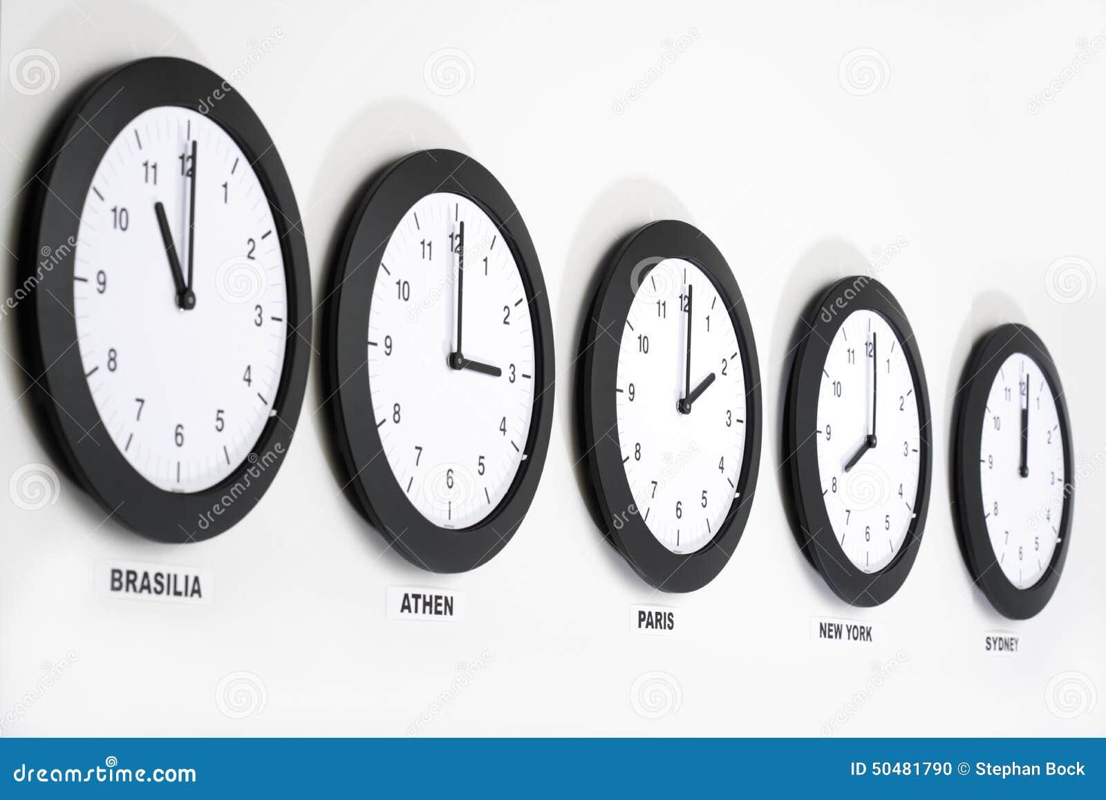 Relojes en la pared s mbolo para el horario de greenwich - Reloj pintado en la pared ...
