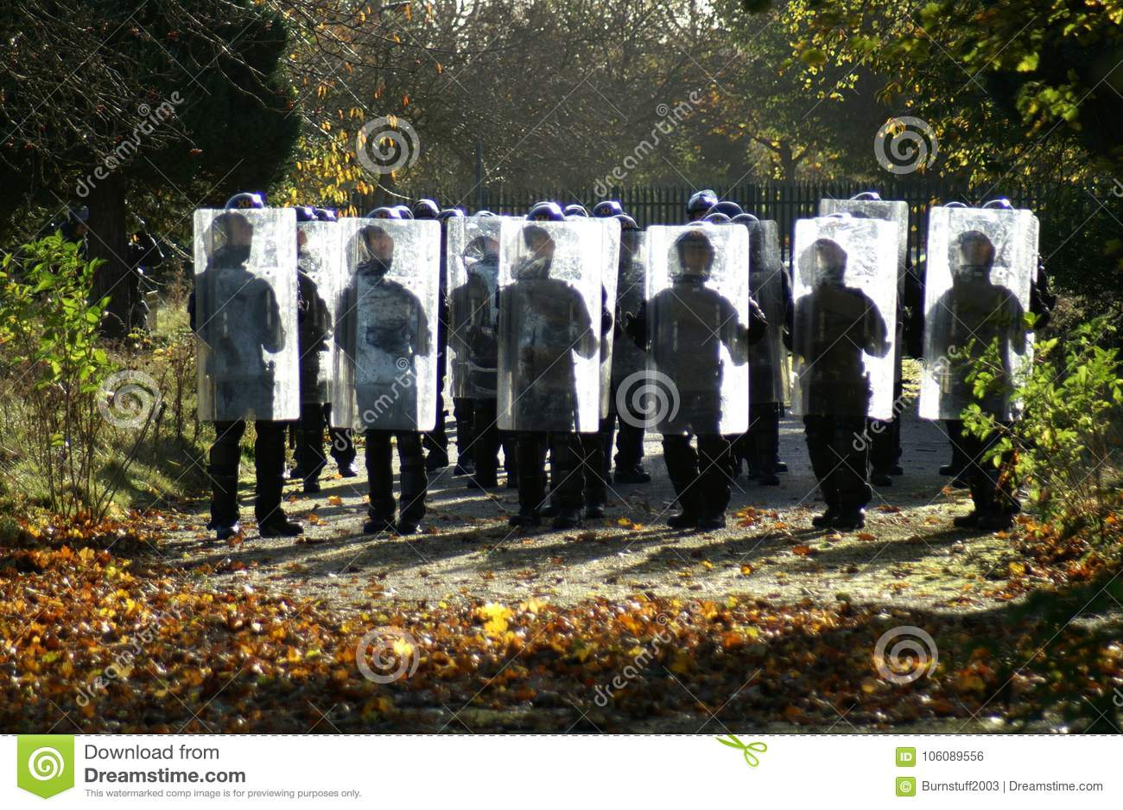 Relpolitie-eenheid, stad het controleren misdaad en asociaal gedrag