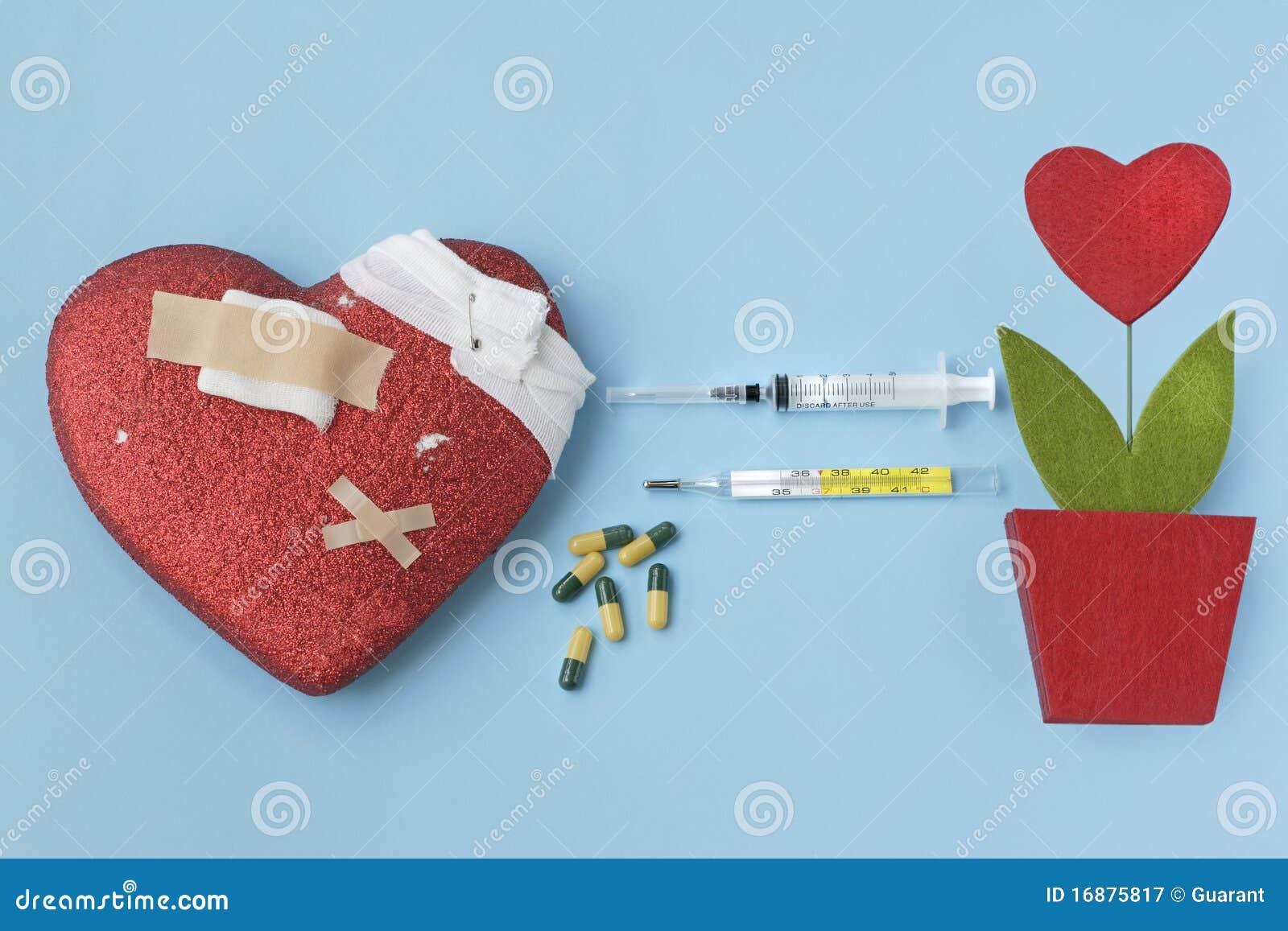 Remède et greffe de coeur