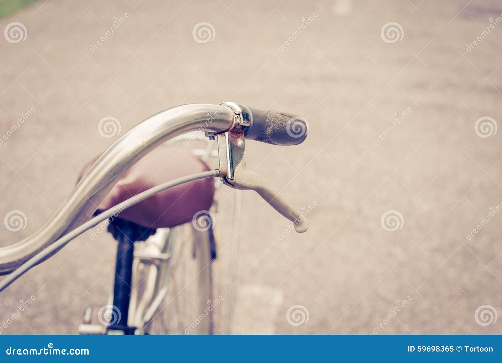 Rem uitstekende fiets