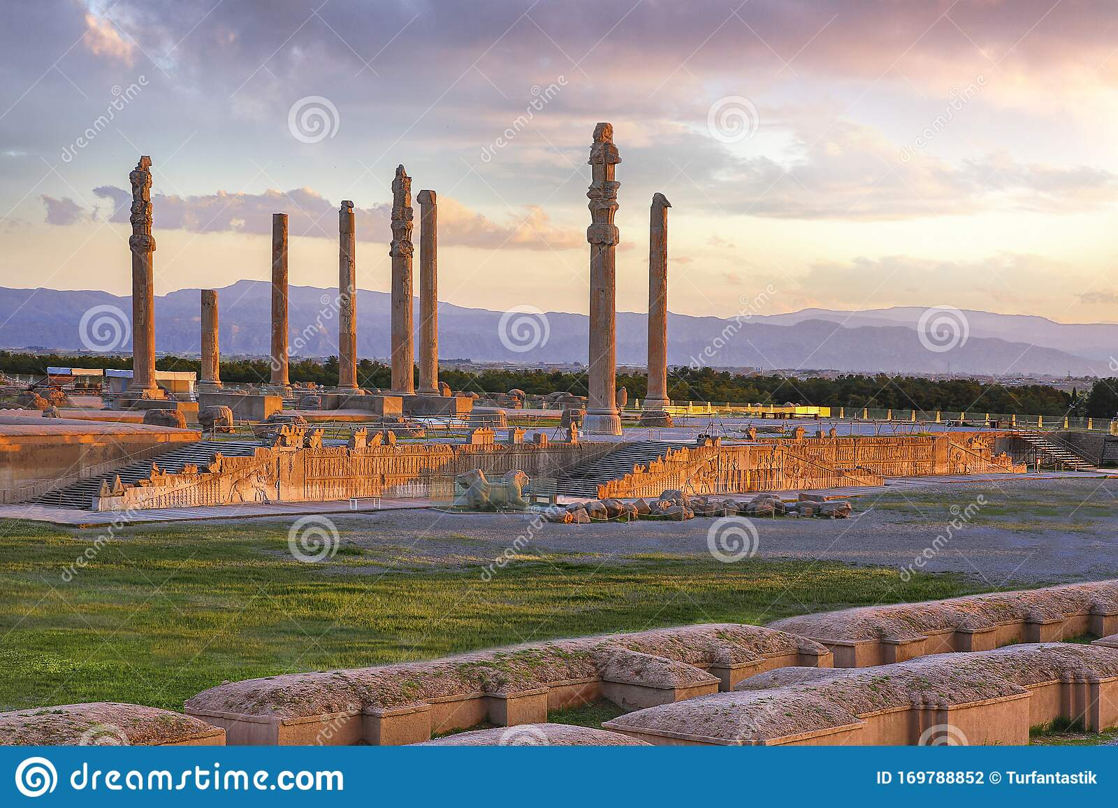 Remains Of The Persian City Of Persepolis In Iran Stock Photo Image Of Monumental Heritage 169788852