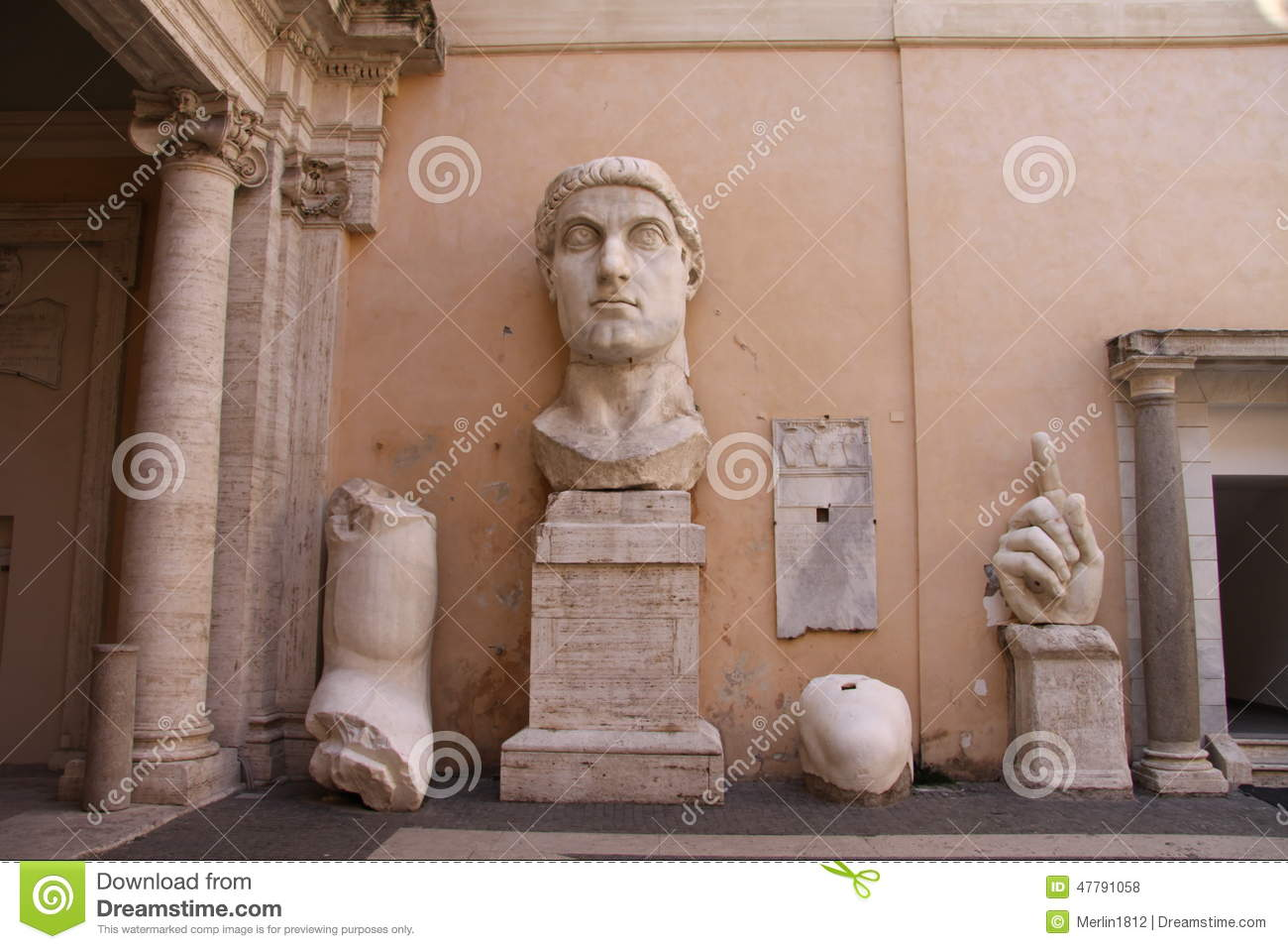 Remains of Statue of Constantine