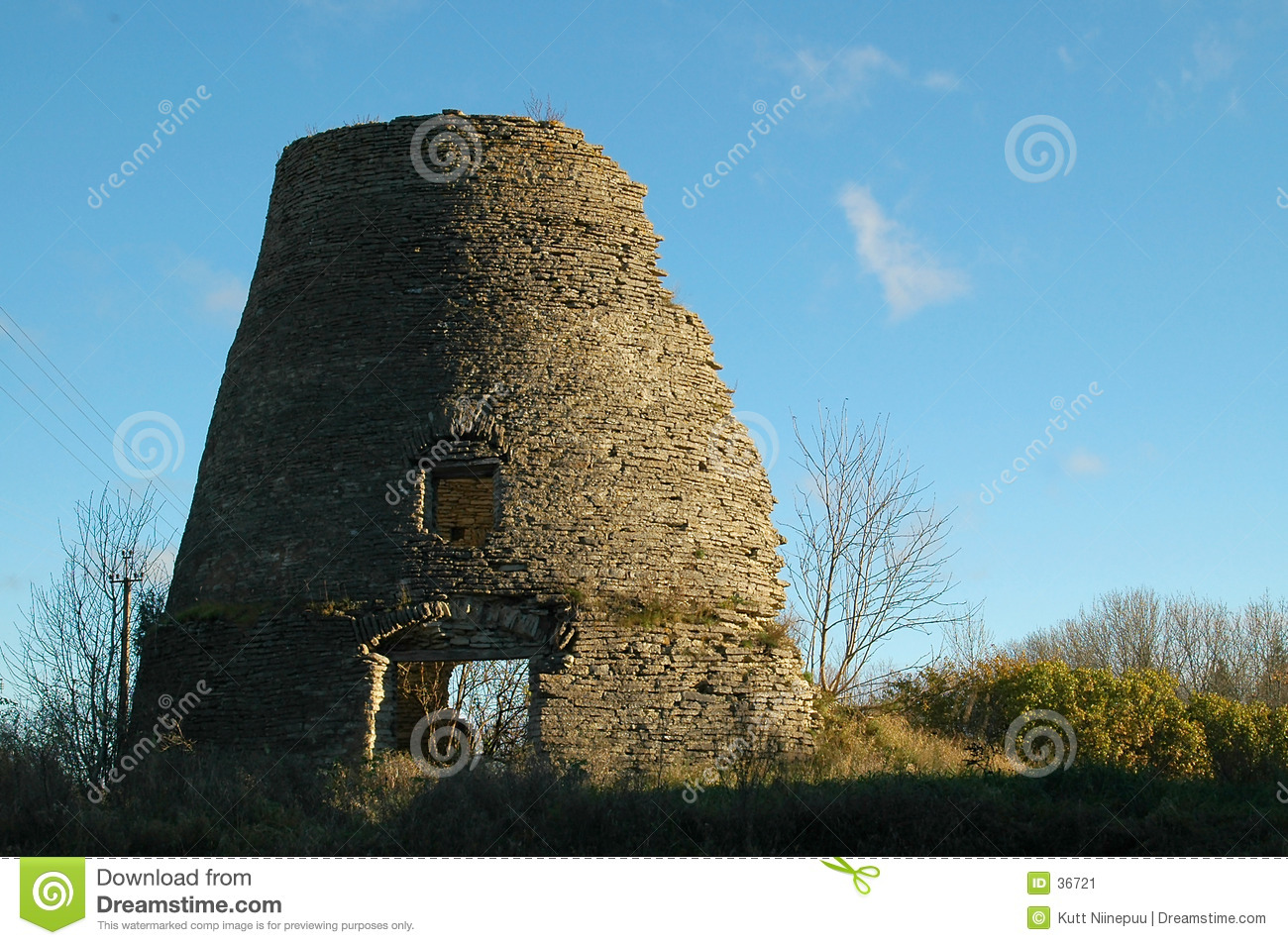 Remains of a windmill 1