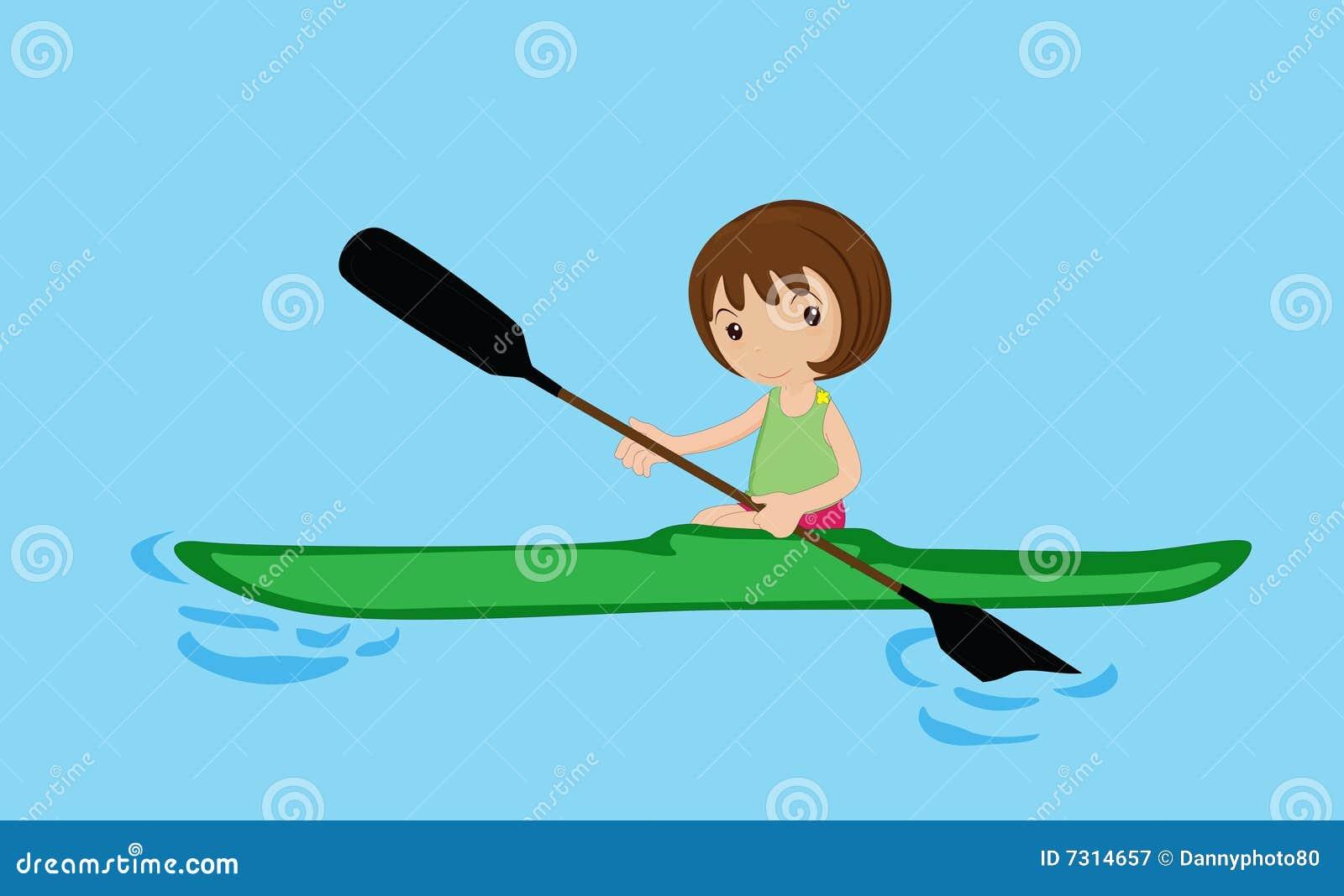 Rematura della ragazza della canoa