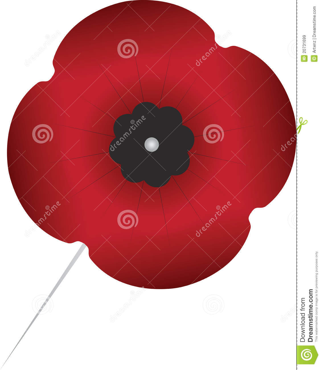 remembrance day poppy royalty free stock images image 20731699