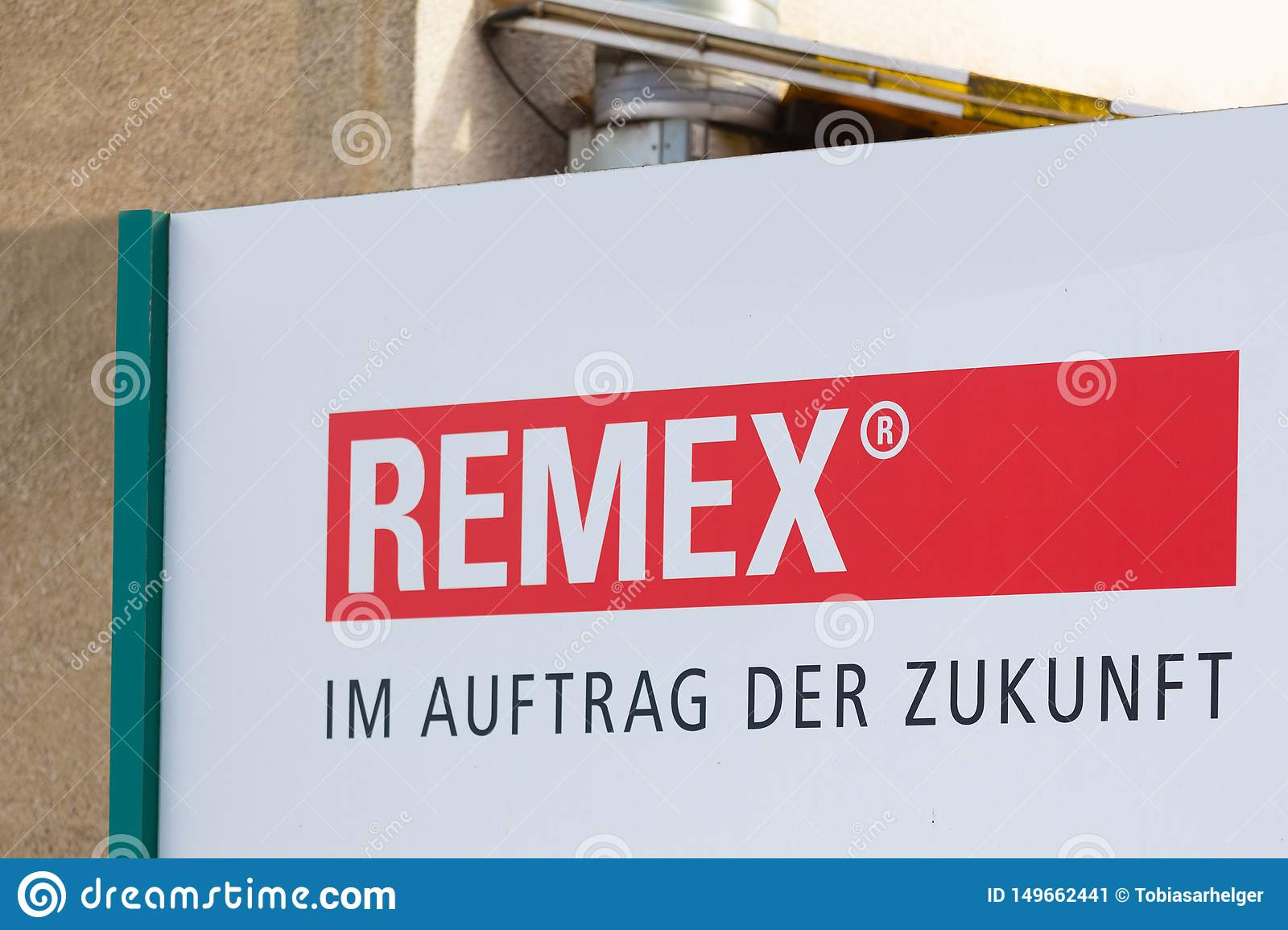 Remex sign in witten germany